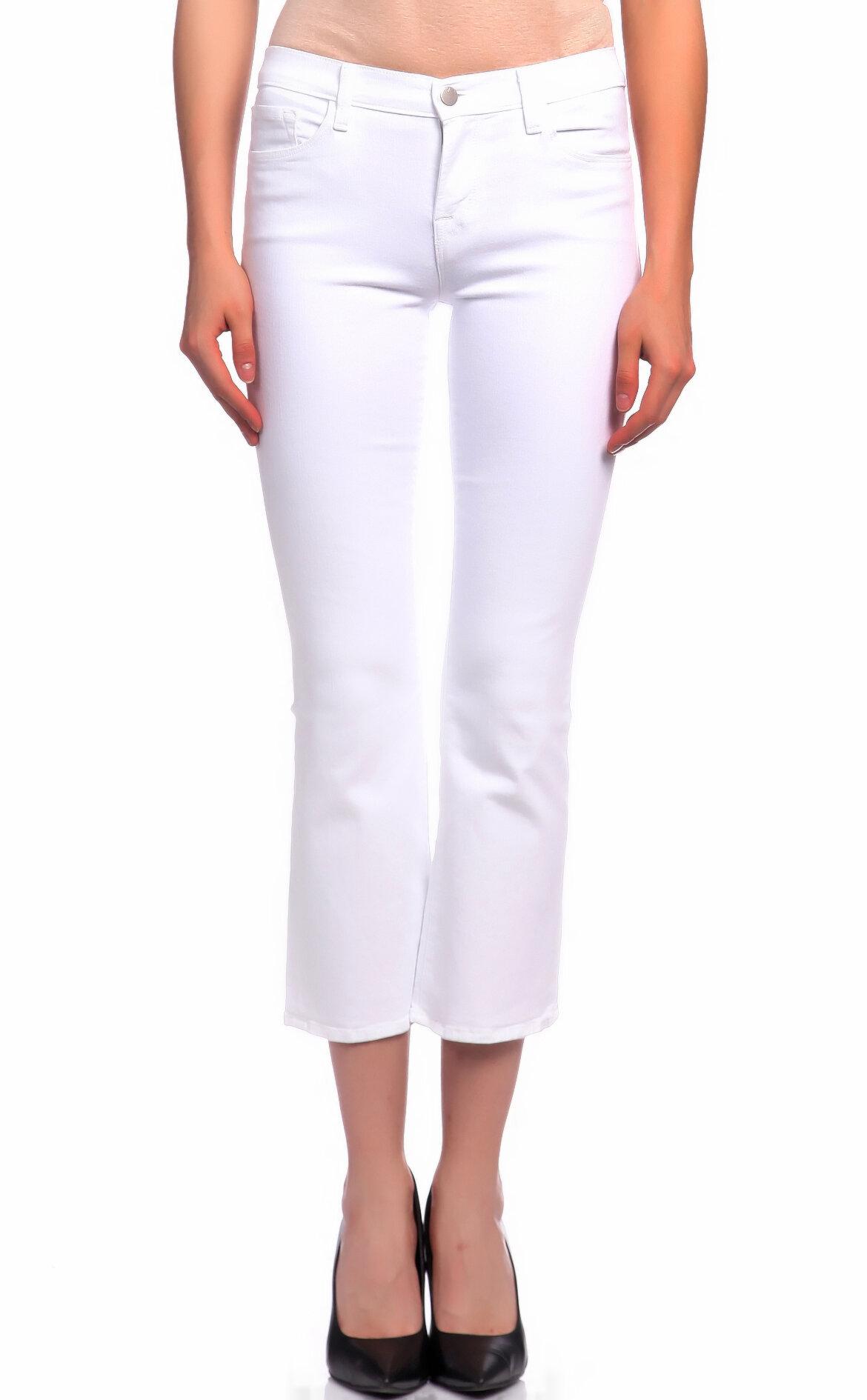 J Brand-J Brand Jean Skinny Beyaz Pantolon