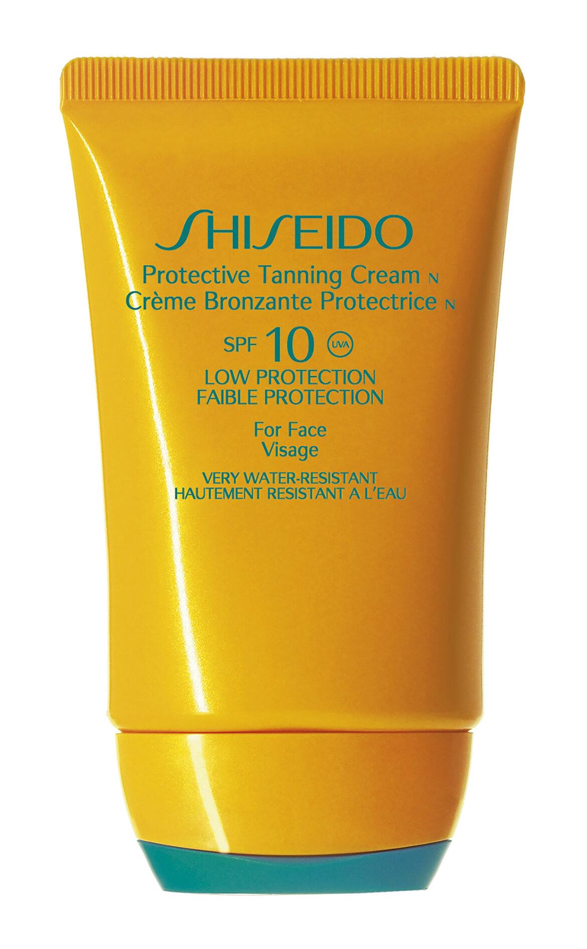 Shiseido-Shiseido Gsc Protective Tanning Cream Spf 10 50 ml Güneş Kremi