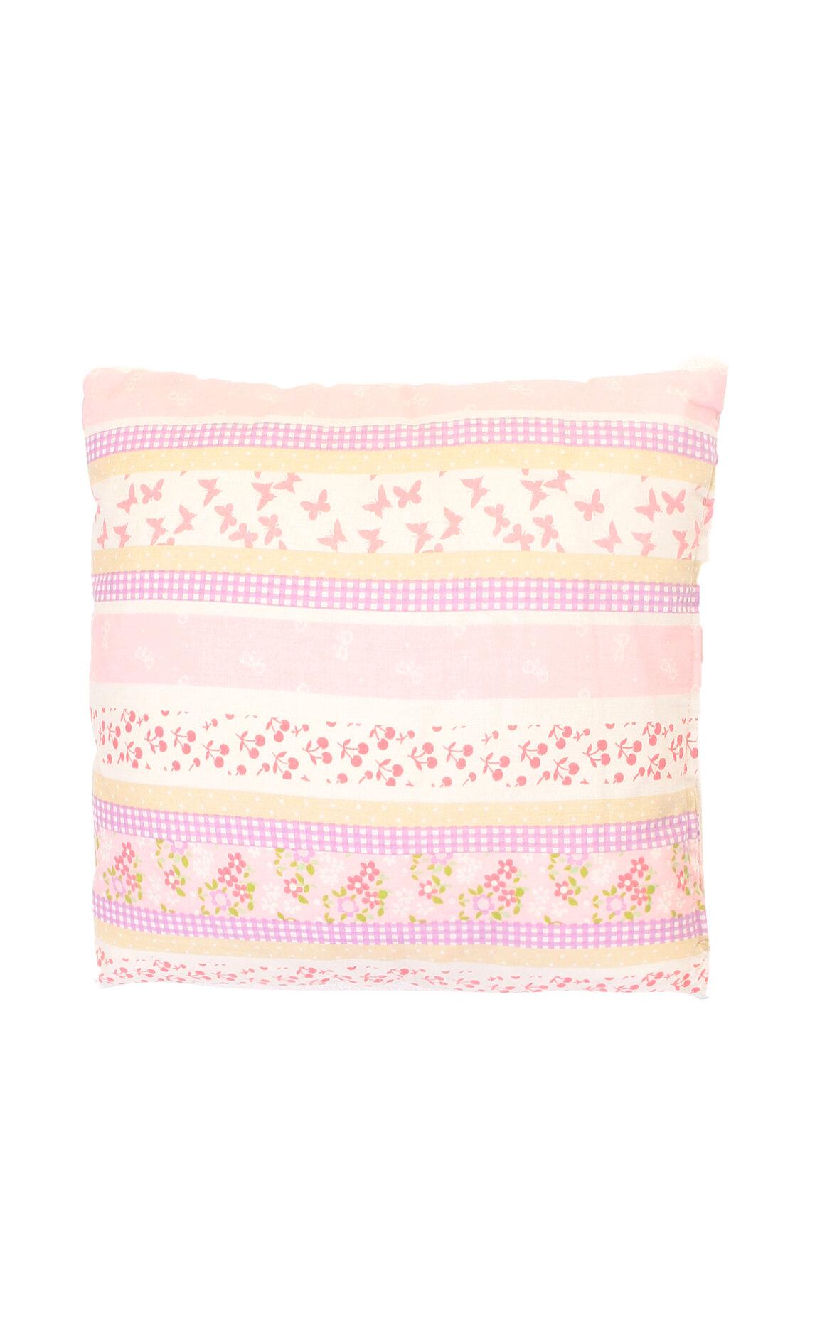 Laura Ashley-Laura Ashley Hpc Cottage Sprig Pink 35X35 cm Dekoratif Yastık