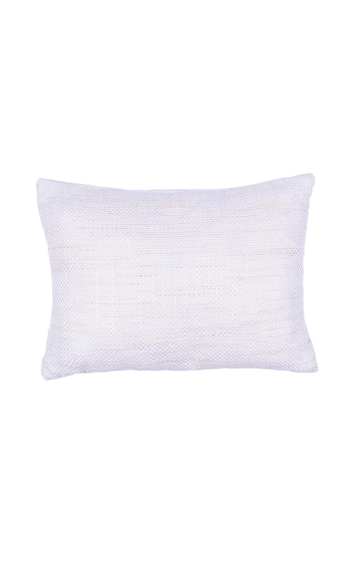 Laura Ashley-Laura Ashley Wvn Dobby Dalton Off White 30X40 cm Dekoratif Yastık
