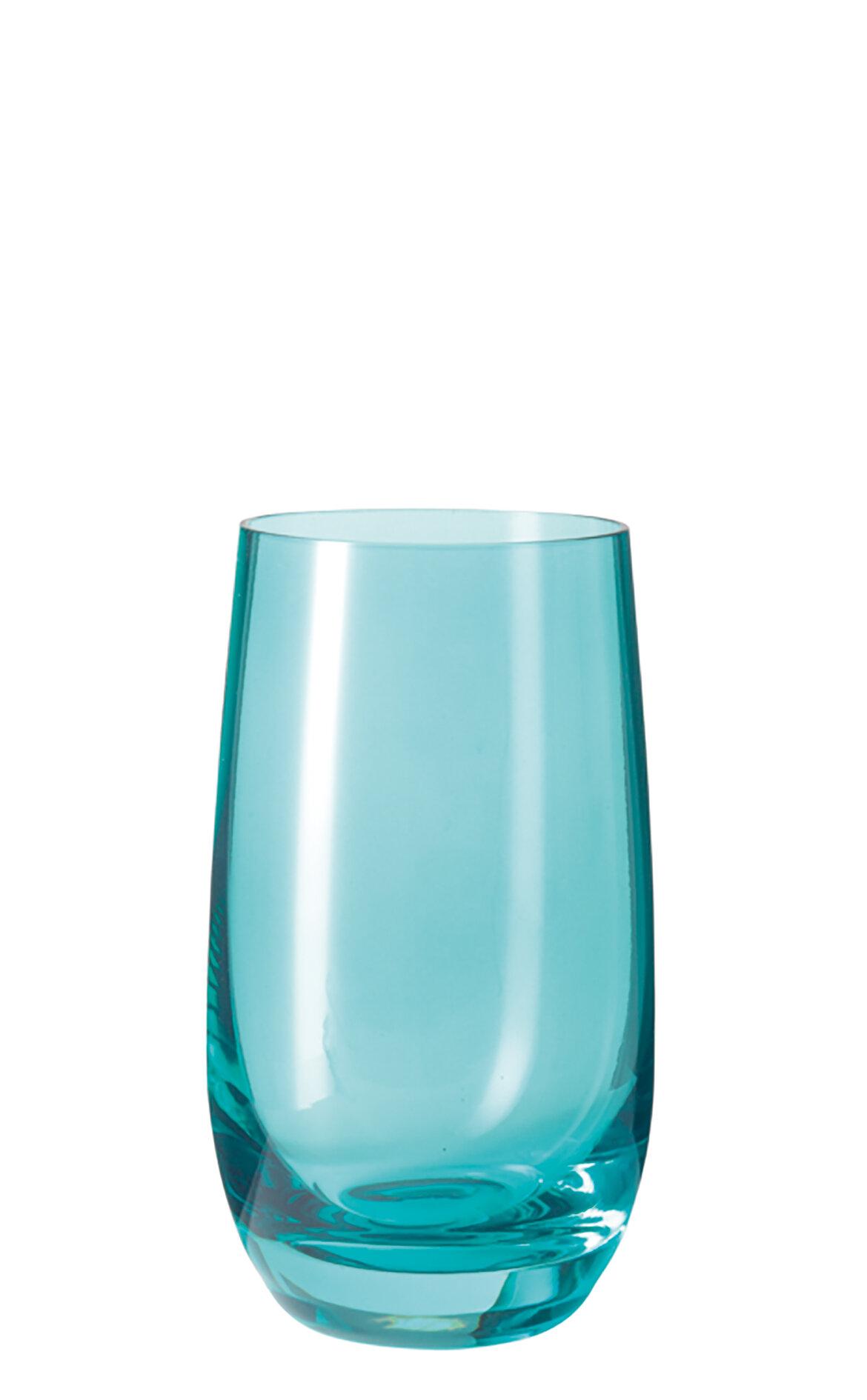 Leonardo Sora Turkuaz Su Bardağı 390 ml.