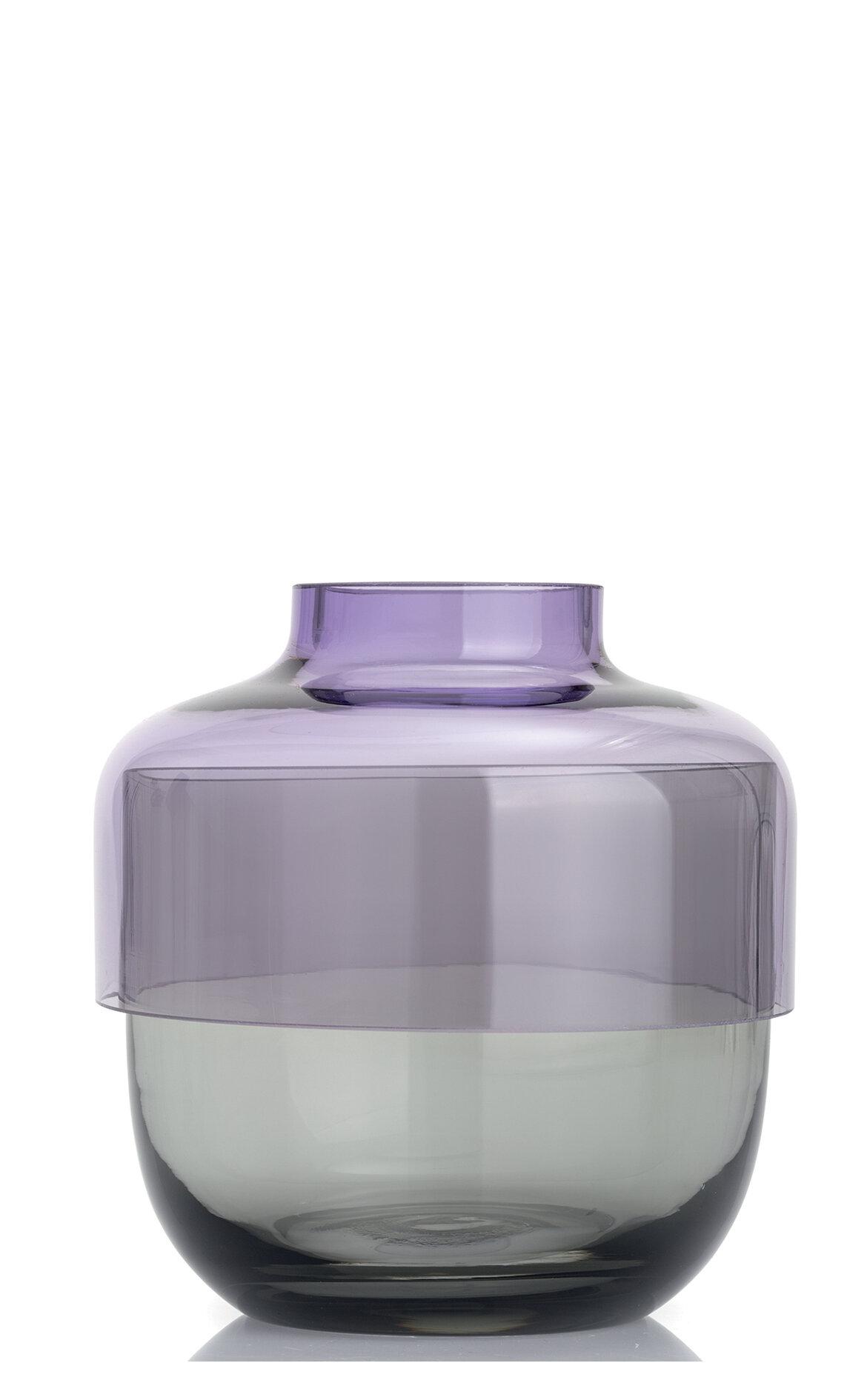 Leonardo Fusion İkili Mor / Gri Vazo Seti