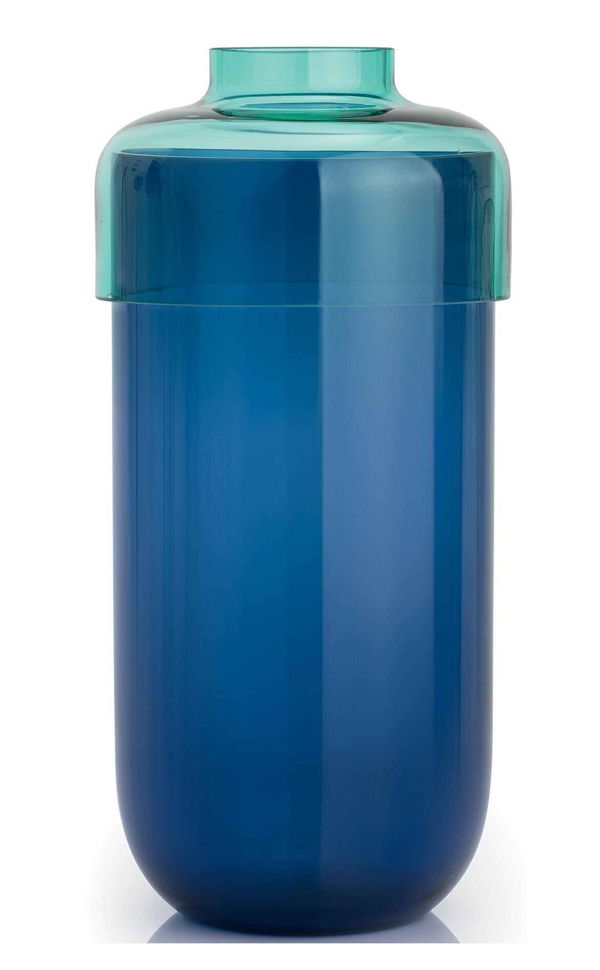 Leonardo Fusion İkili Turquaz / Mavi Vazo Seti