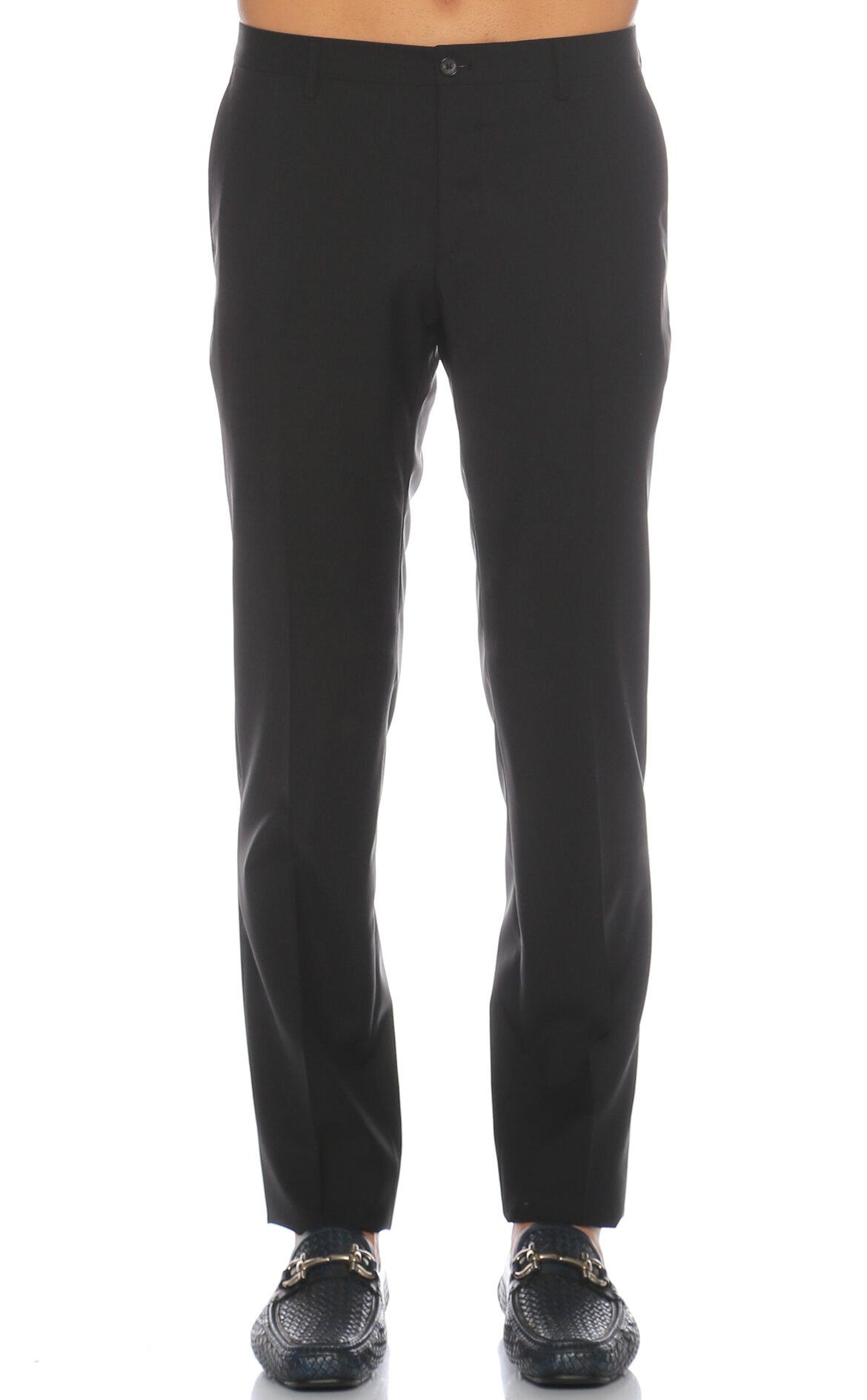 Salvatore Ferragamo Siyah Pantolon