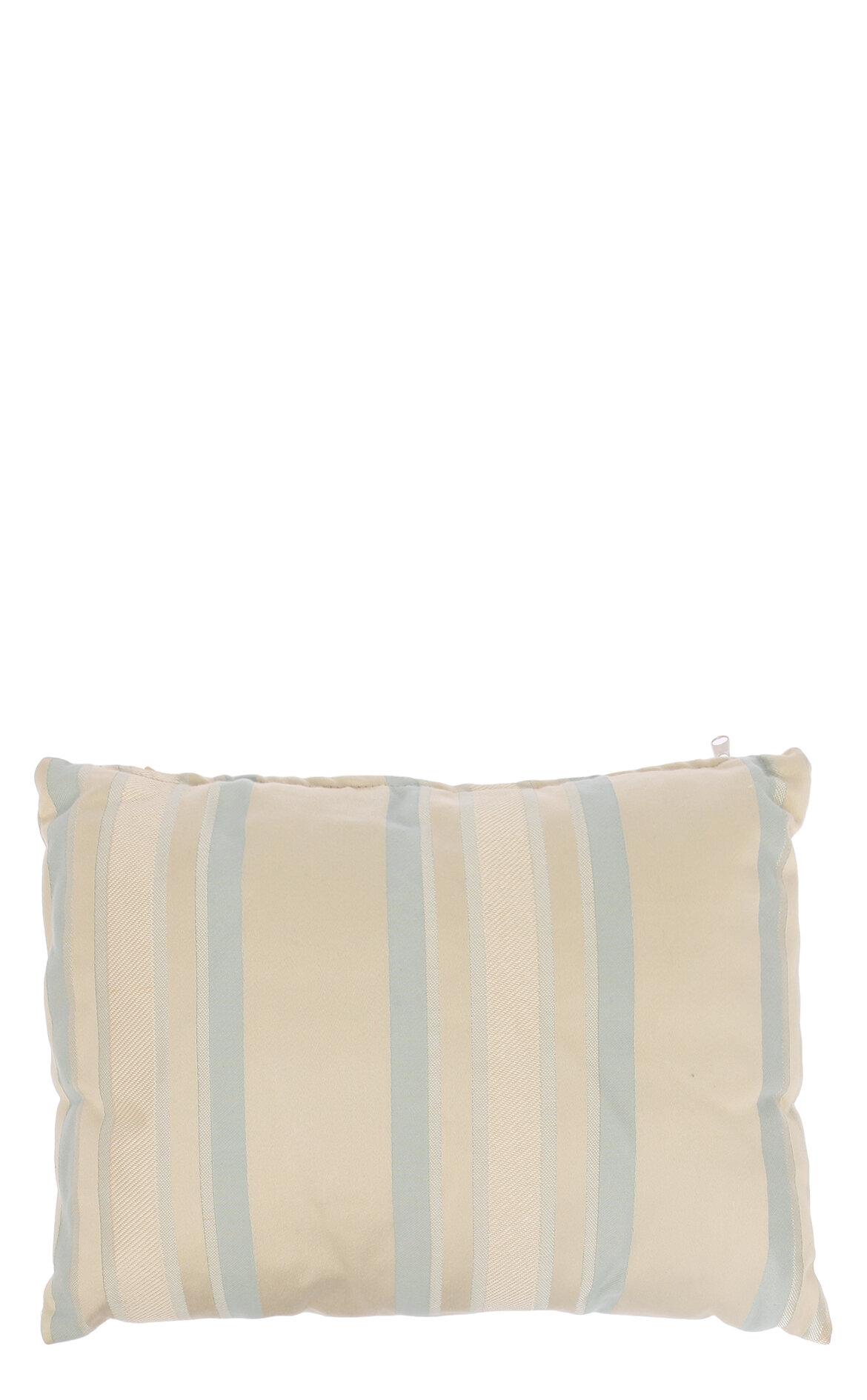 Laura Ashley-Laura Ashley Lcf Awning Stripe Duck Egg 30X40 cm Dekoratif Yastık