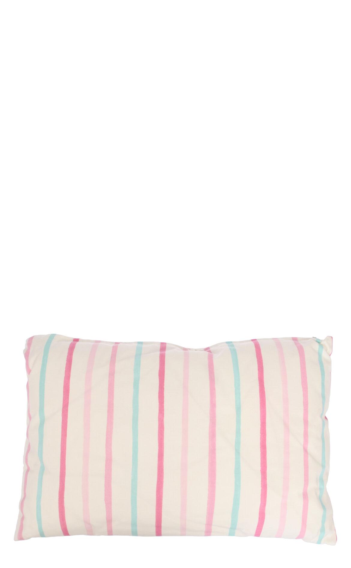 Laura Ashley-Laura Ashley Painterly Stripe Cdf Pink 40X60 cm Dekoratif Yastık