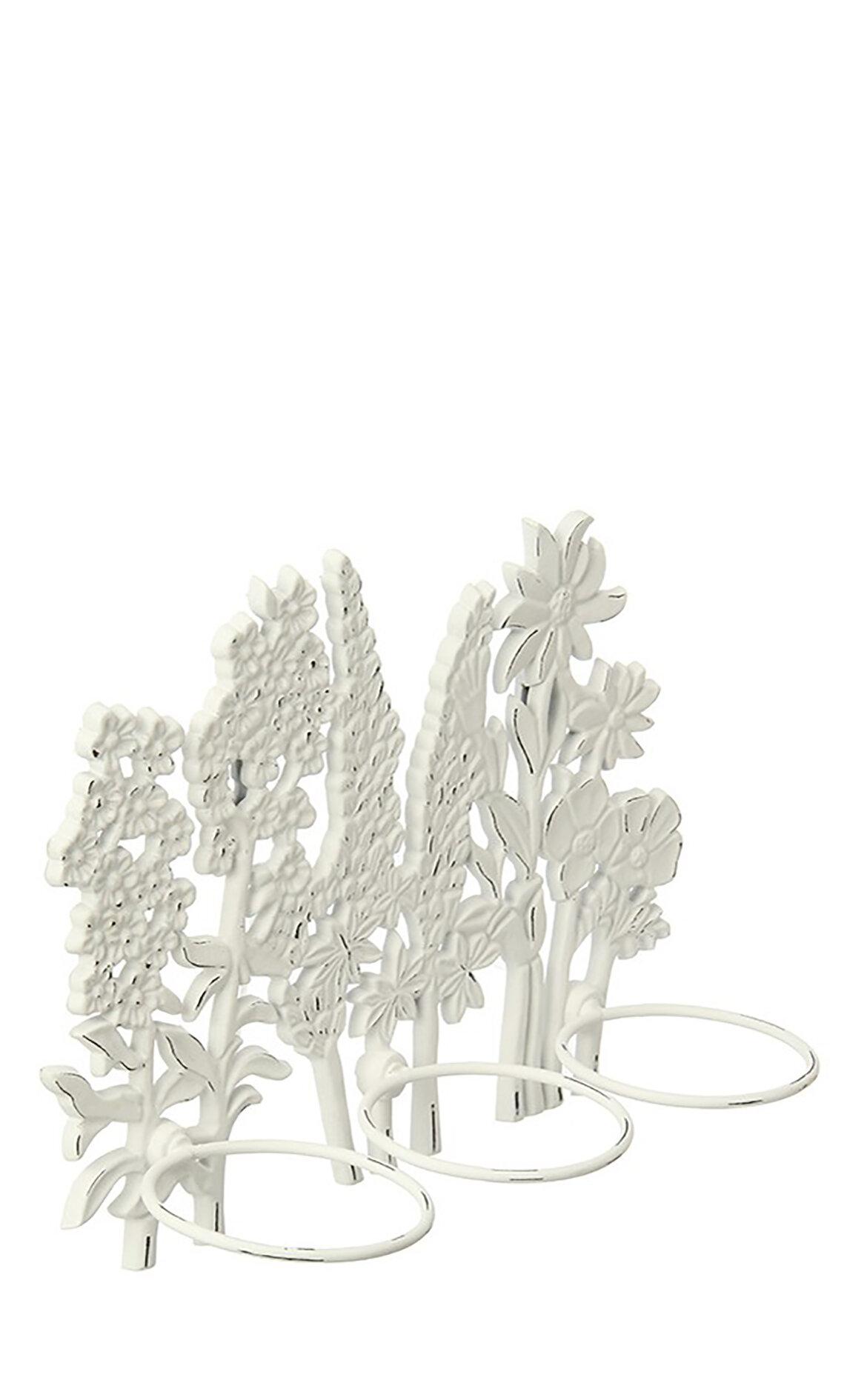Laura Ashley Flower Wall Mnt Plant Pot Hldr Mumluk