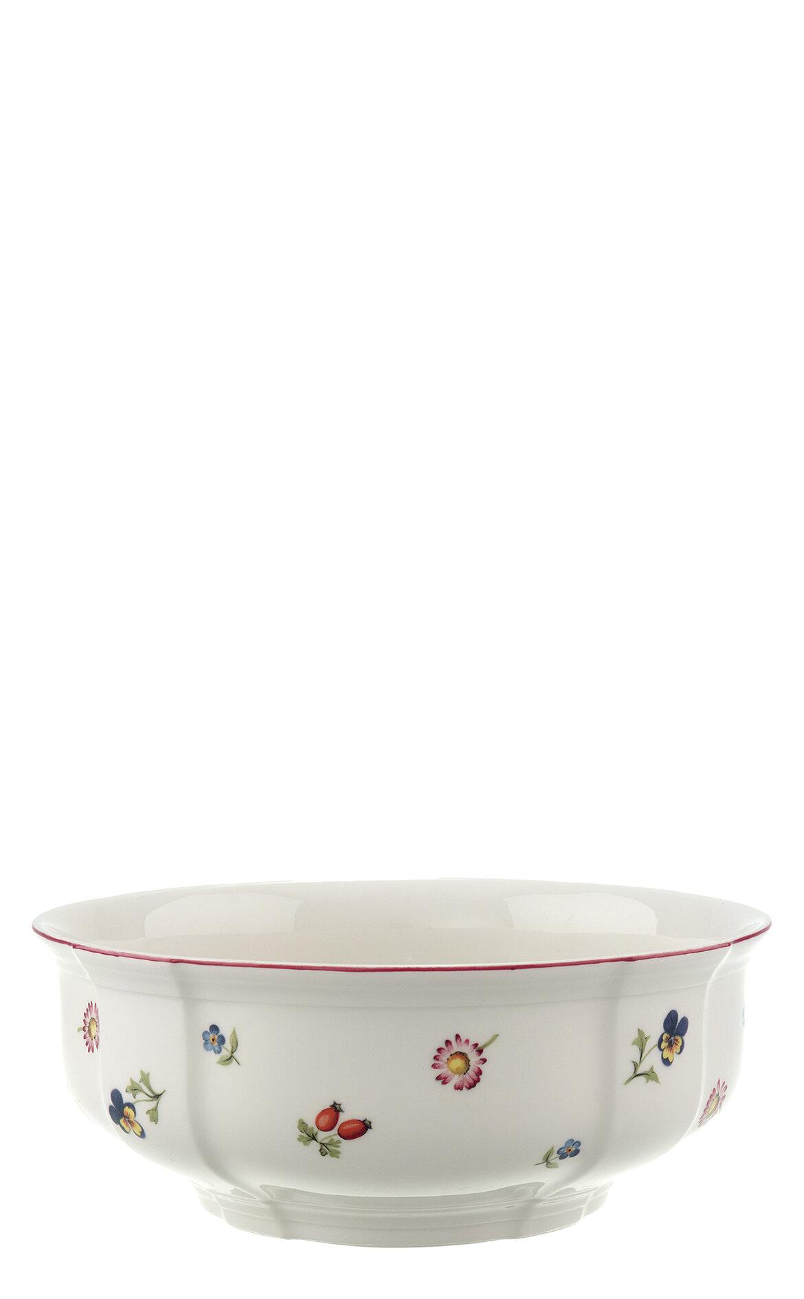 Villeroy & Boch Petite Fleur Salata Servis Kasesi, 21 cm.