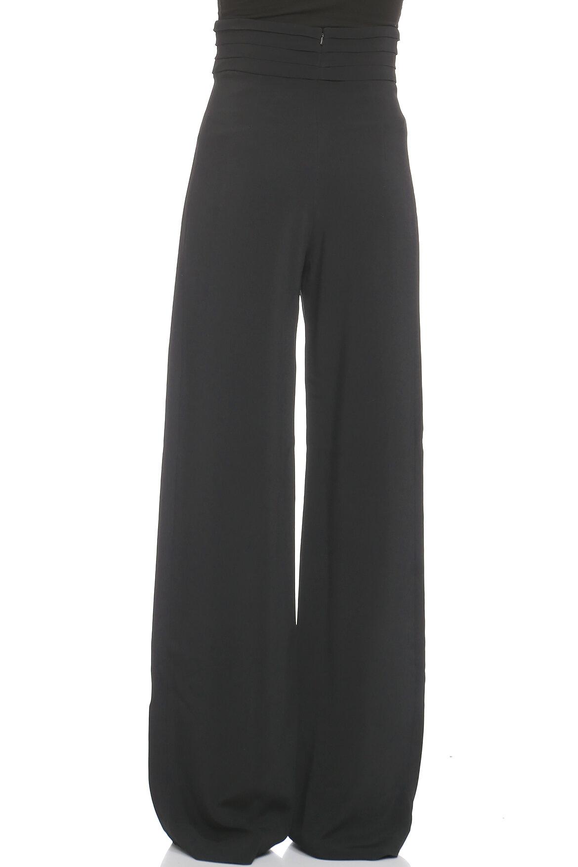 Cushnie et Ochs Geniş Kesim Siyah Pantolon