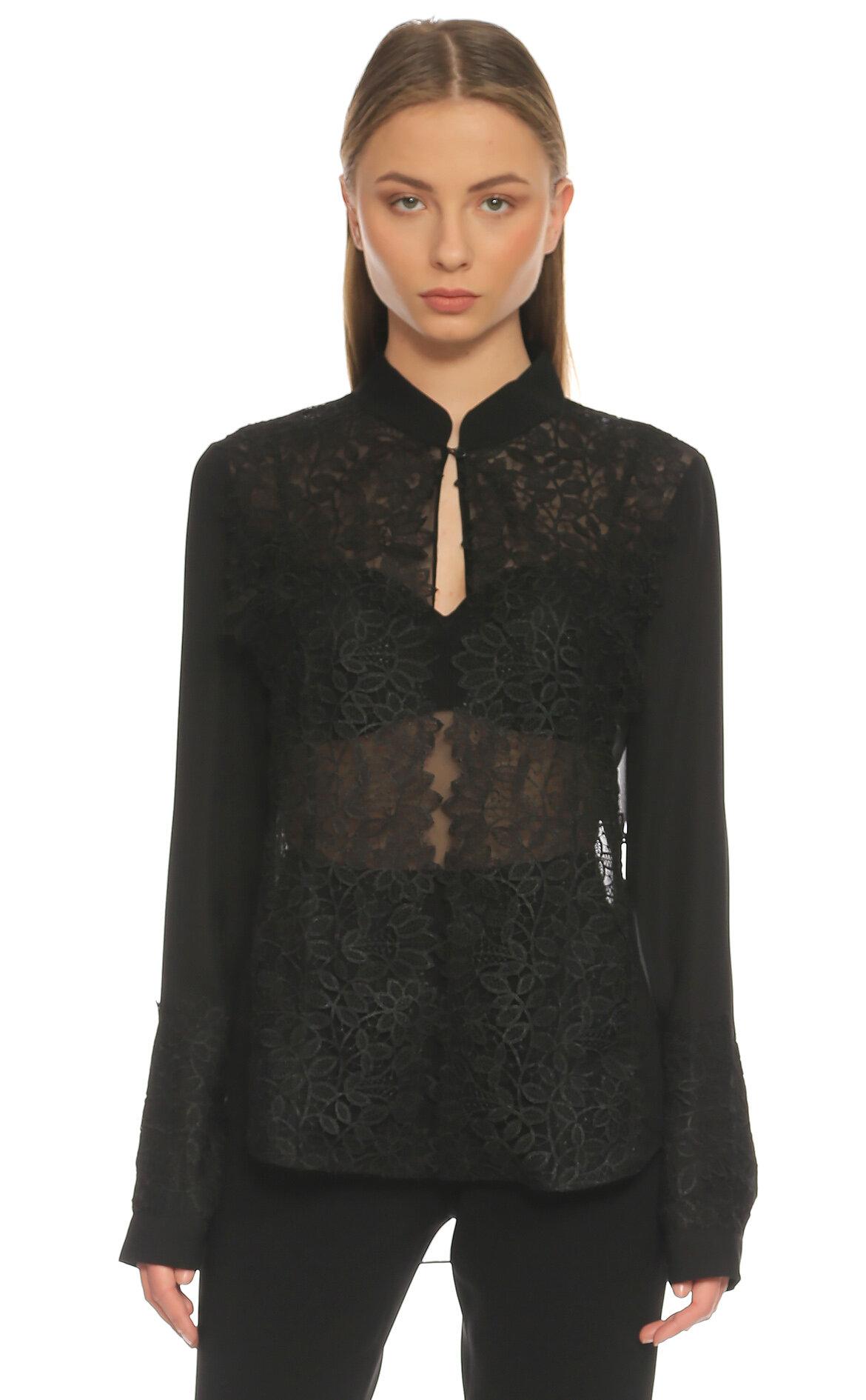 Sachin Babi  Siyah Bluz