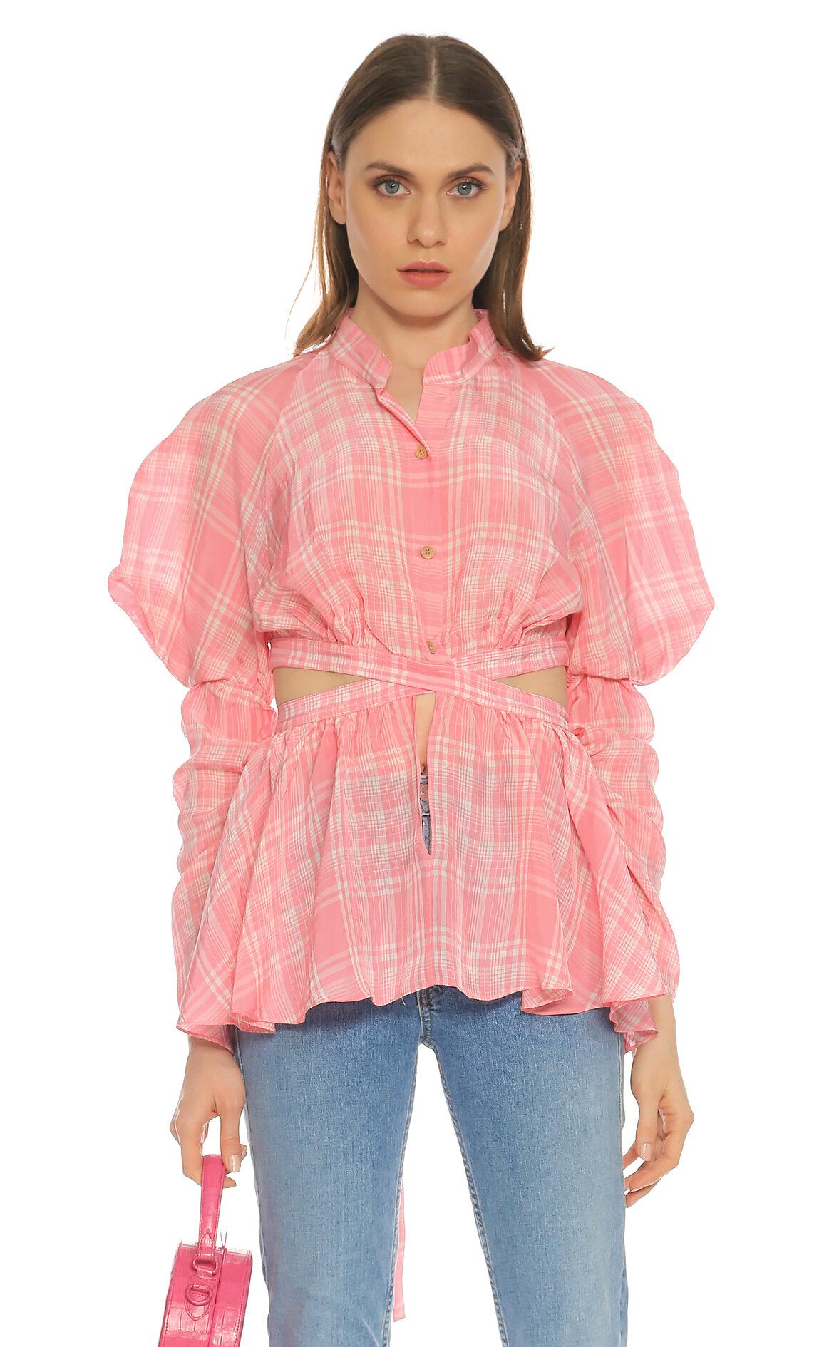 Rosie Assoulin  Pembe Bluz
