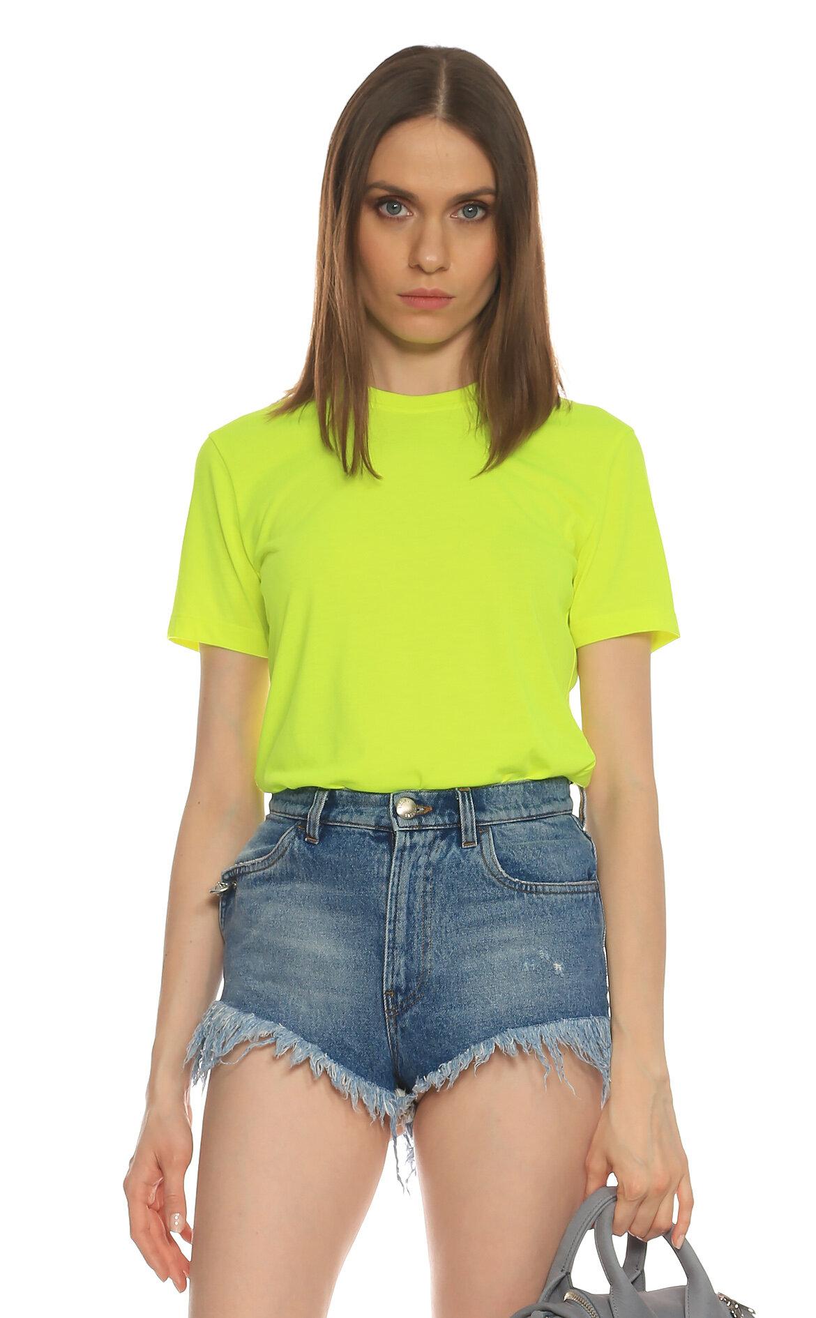 Versus-Versus Neon Yeşil T-Shirt