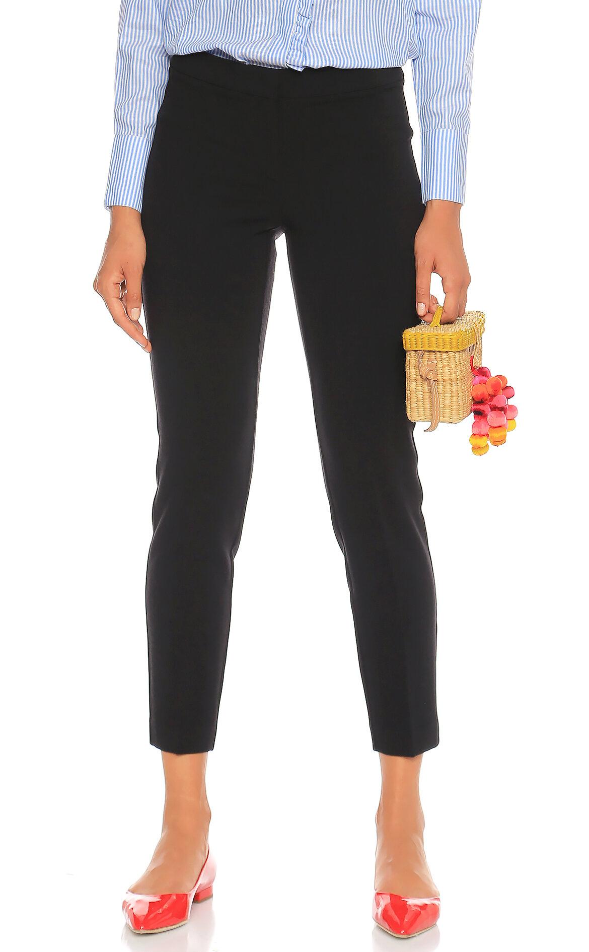 Penny Black-Penny Black Slim Fit Siyah Pantolon