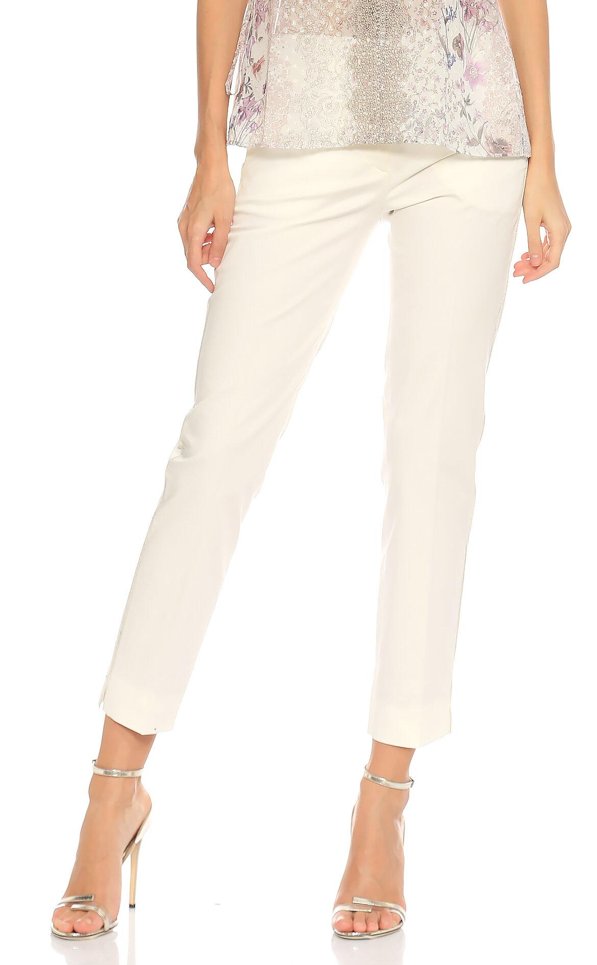 Gerard Darel-Gerard Darel Düz Desen Beyaz Pantolon