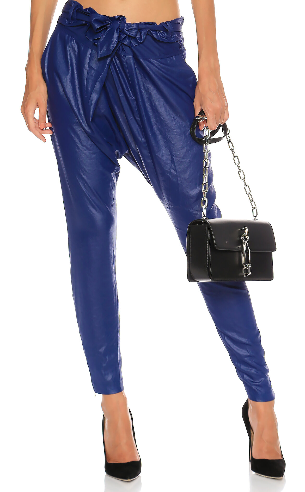Barbara Bui-Barbara Bui Şalvar Kesim Mavi Pantolon
