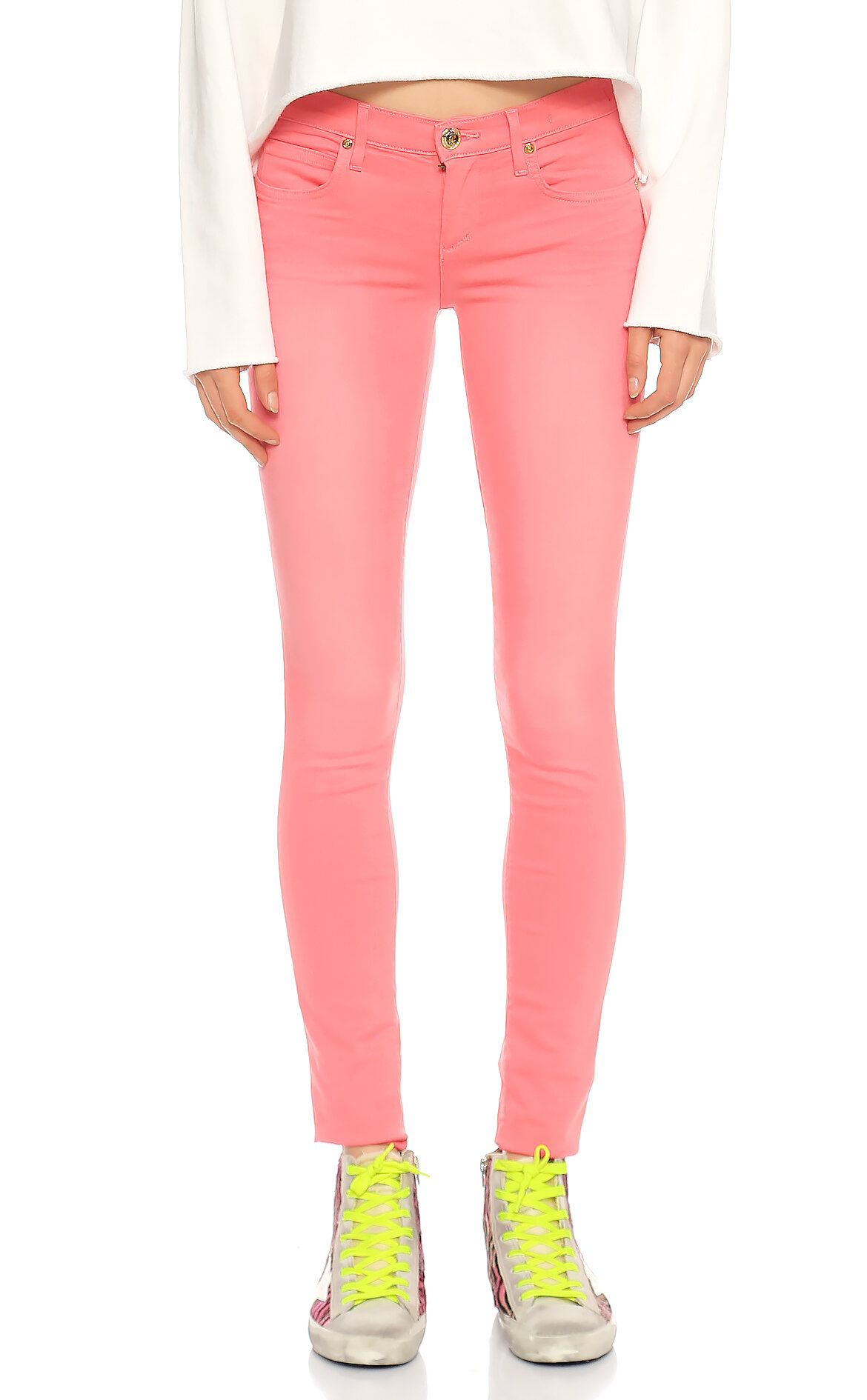 Juicy Couture-Juicy Couture Skinny Jean Pembe  Pantolon