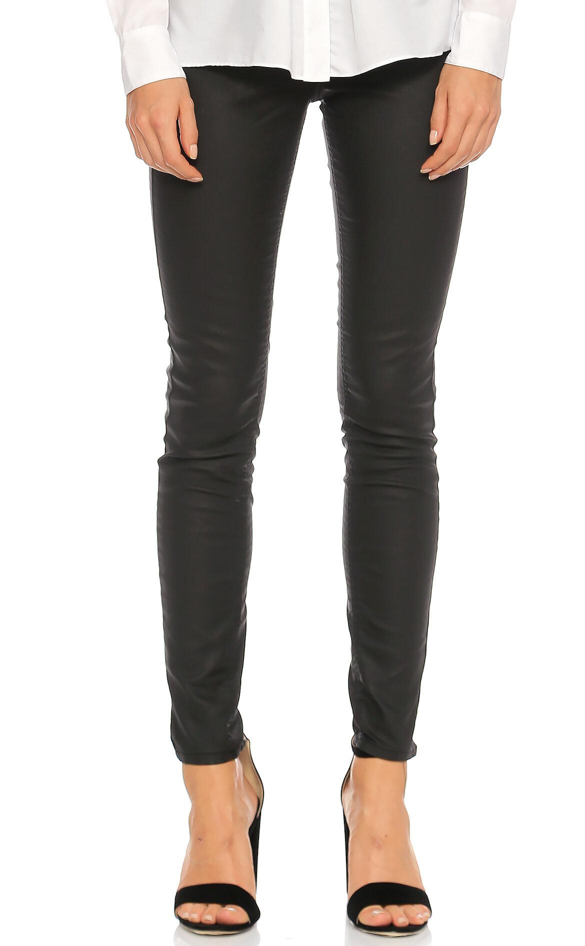 Karen Millen-Karen Millen Skinny Jean Siyah Pantolon