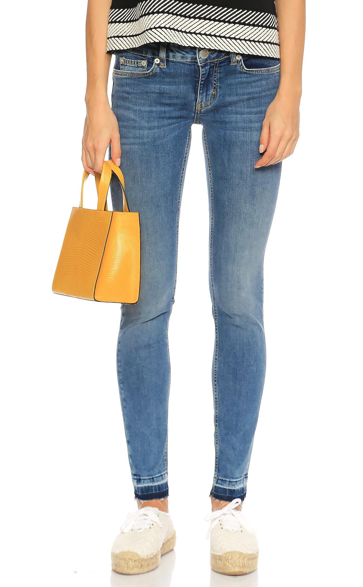 Maje-Maje Skinny Jean Mavi Pantolon