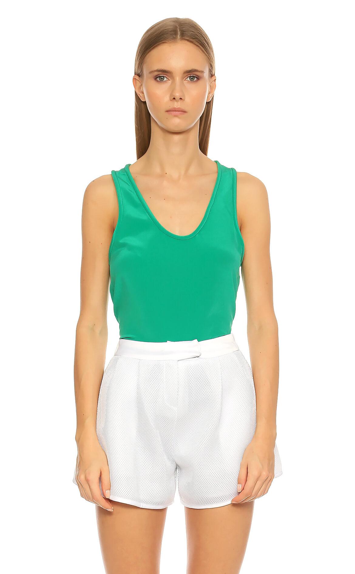 Maje-Maje U Yaka Yeşil Bluz