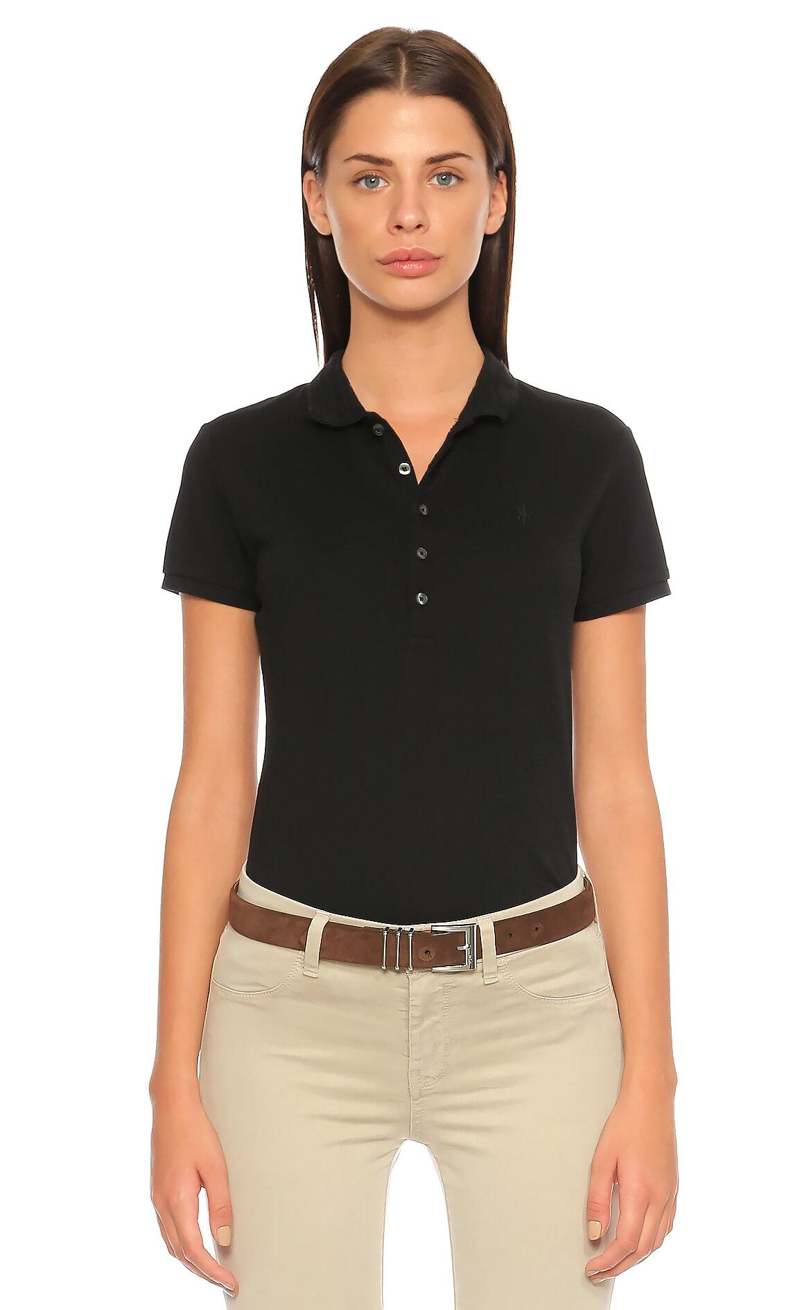 Polo Ralph Lauren-Polo Ralph Lauren Siyah T-Shirt