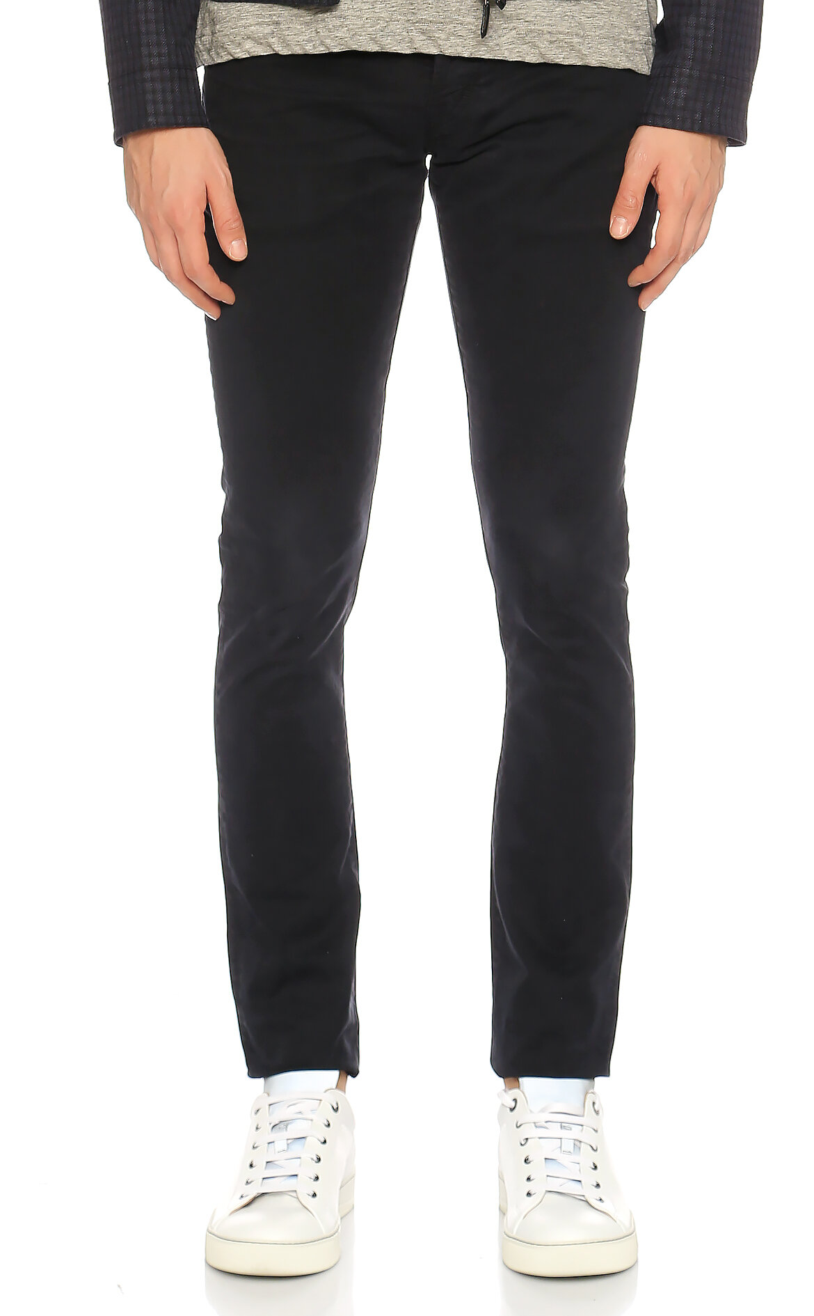Tom Ford Denim Slim Denim Siyah Pantolon