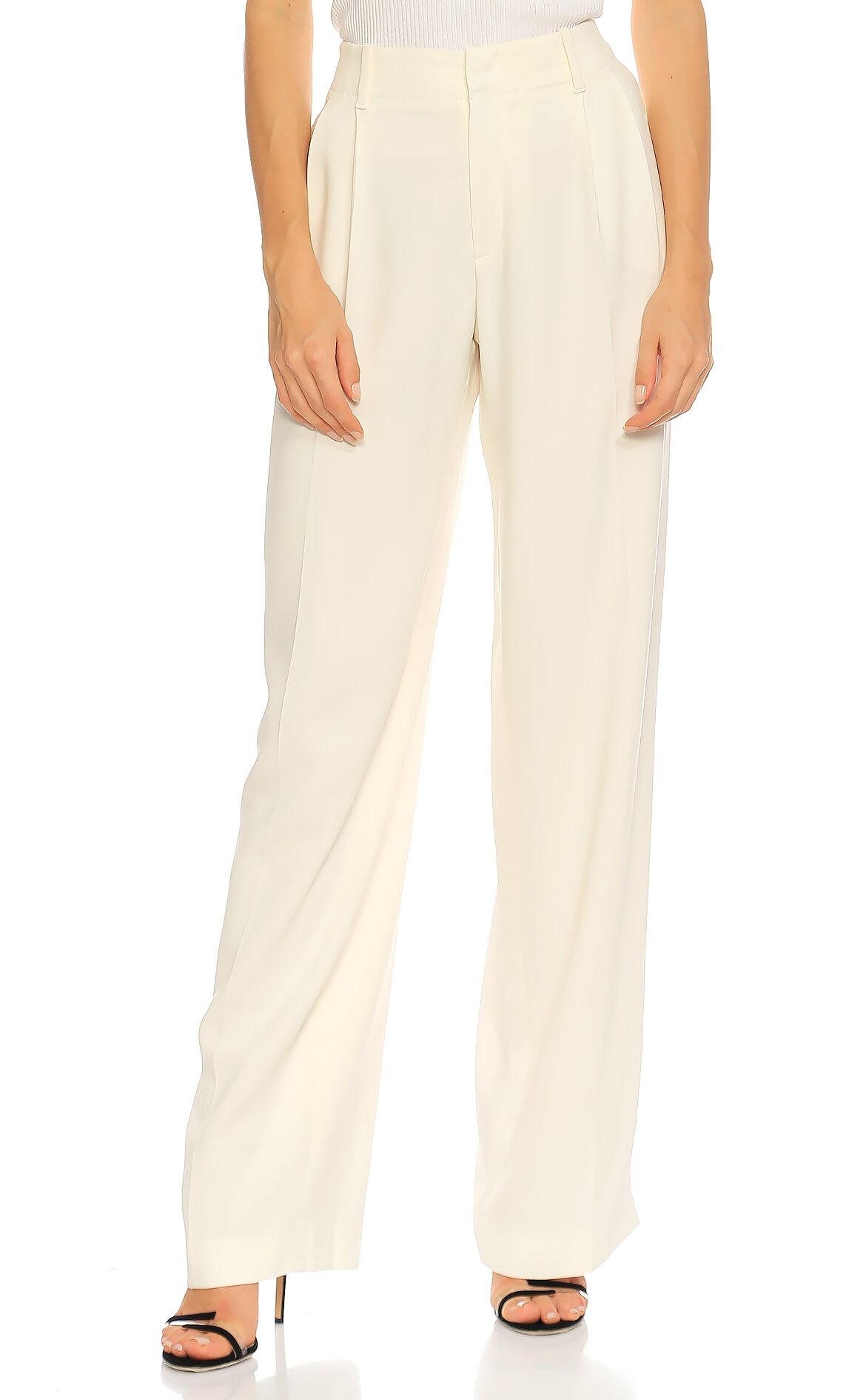 Joseph  Geniş Kesim Beyaz Pantolon