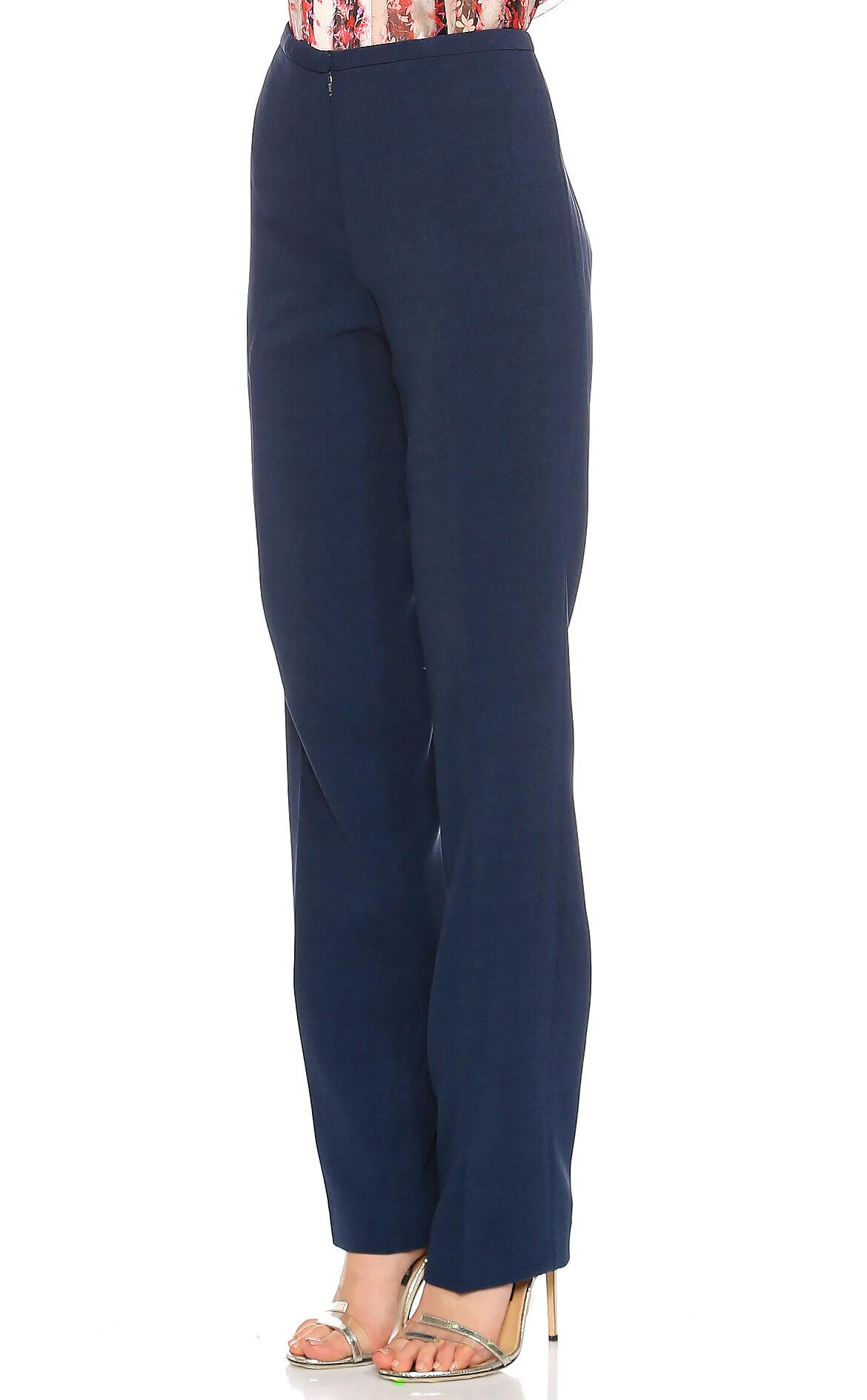 Elie Tahari Yüksel Belli Mavi Pantolon