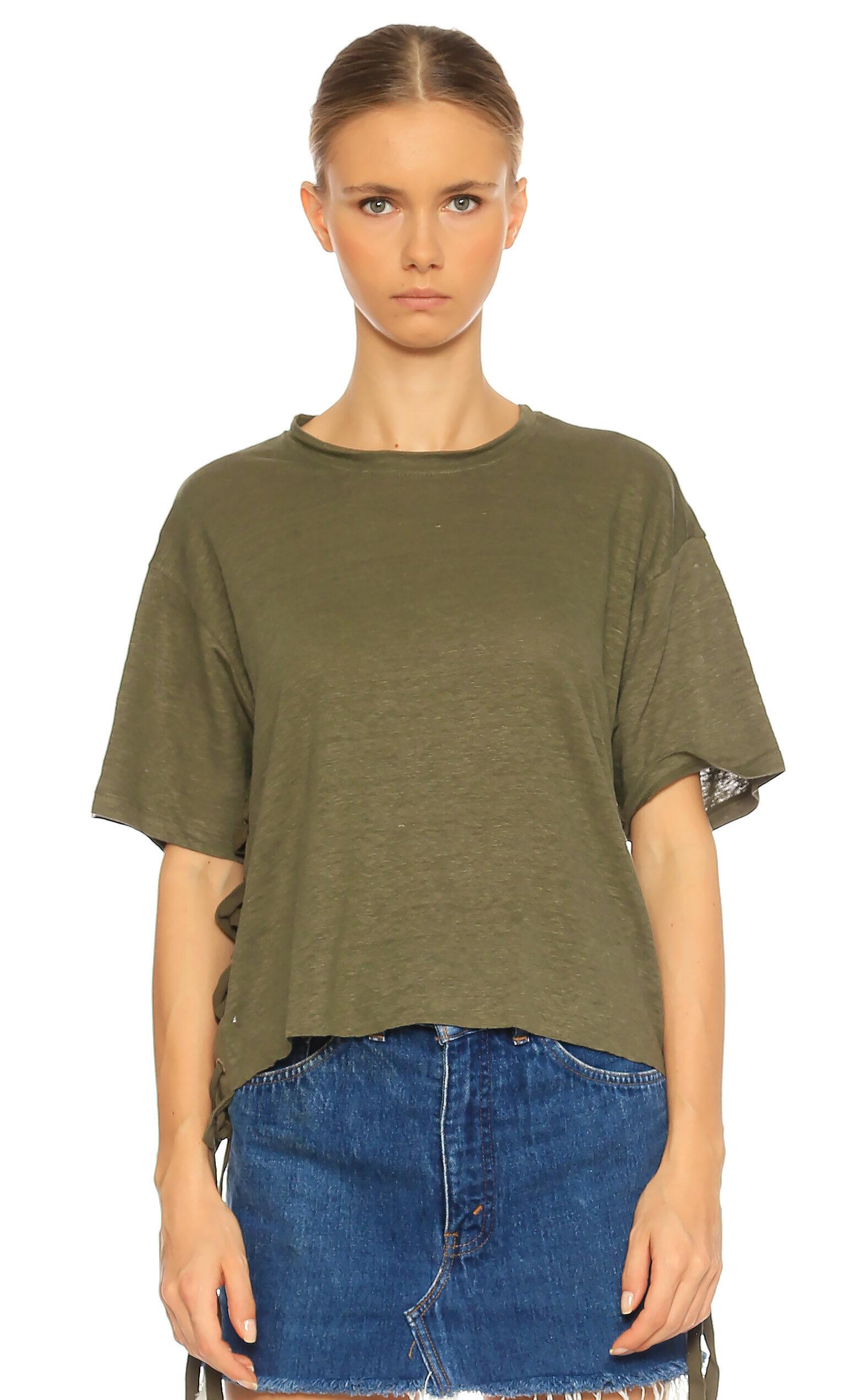 Kendall&Kylie-Kendall&Kylie Kısa Kollu Yeşil T-Shirt