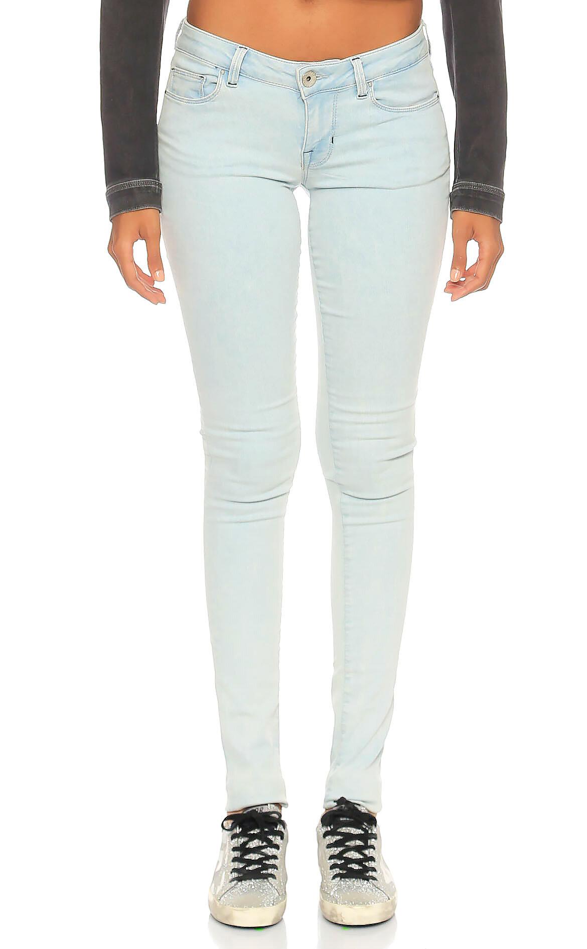 Guess-Guess Denim Skinny Jean Mavi Pantolon