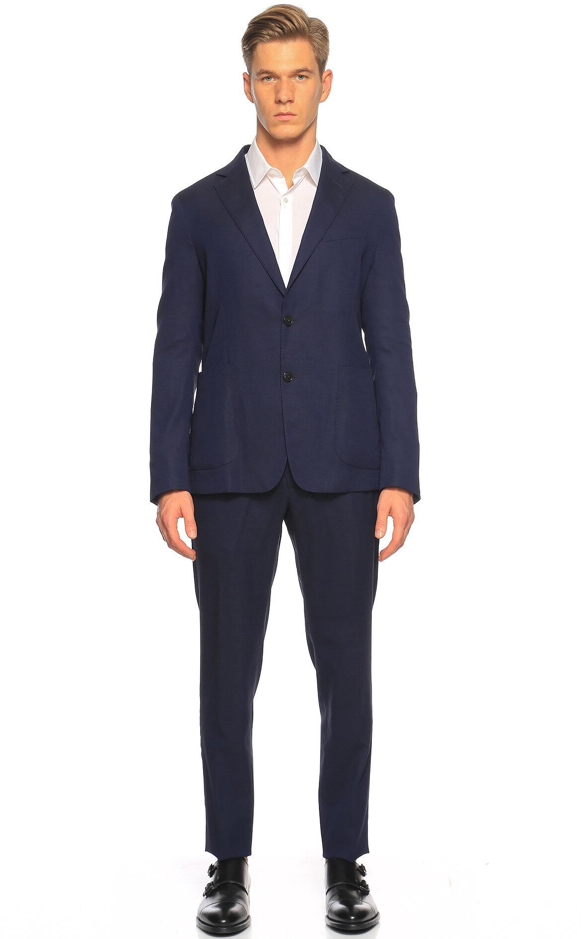 Pal Zileri-Pal Zileri Lacivert Takım Elbise