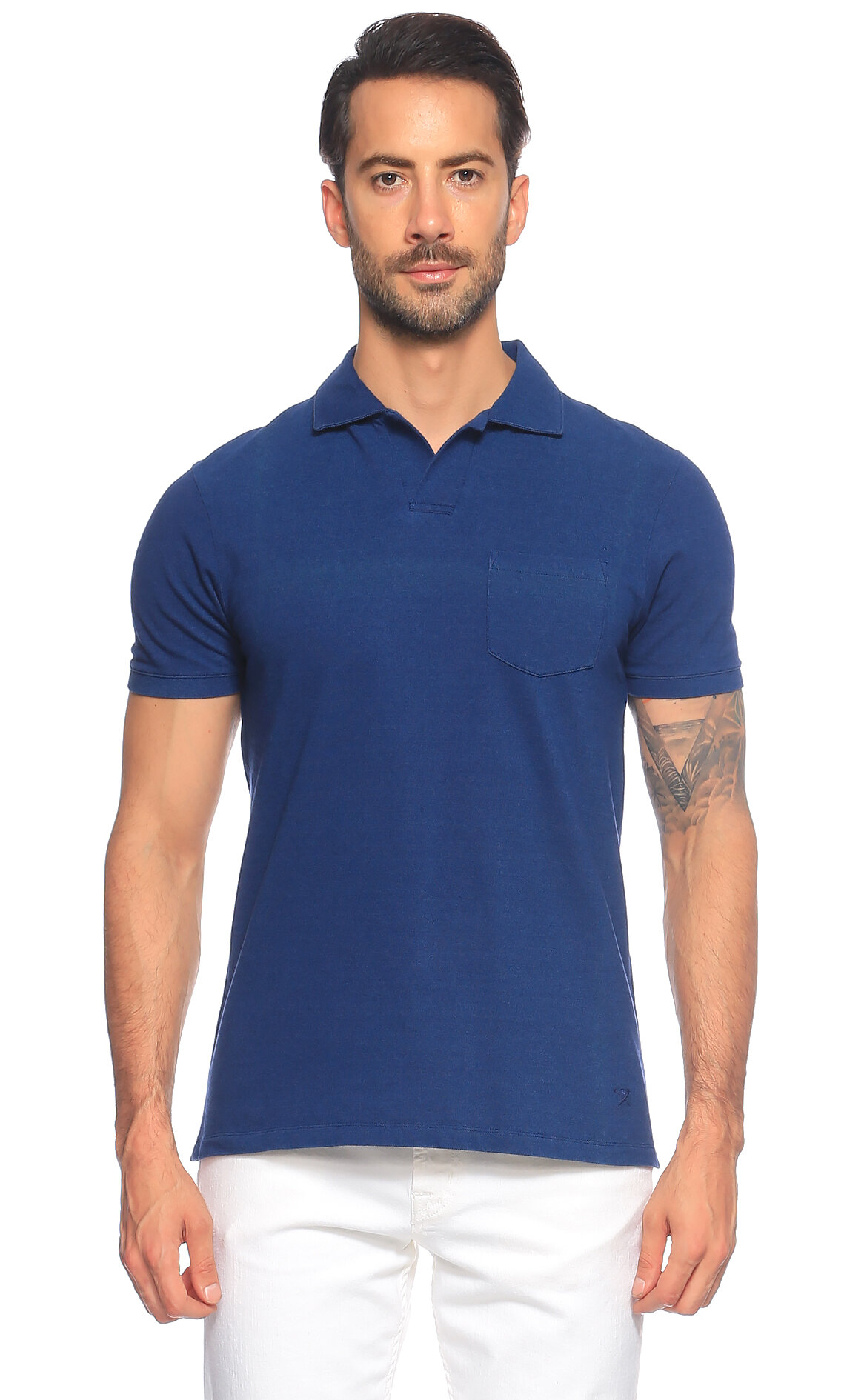Hackett-Hackett Mavi Polo T-Shirt