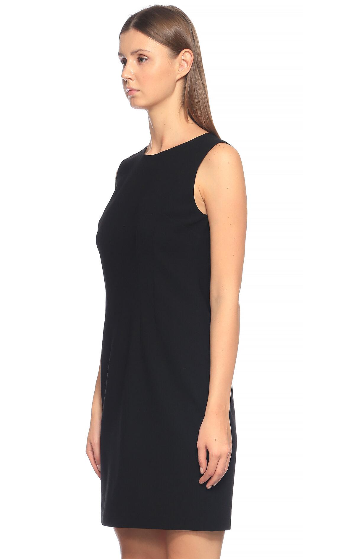 Elie Tahari Mini Siyah Elbise