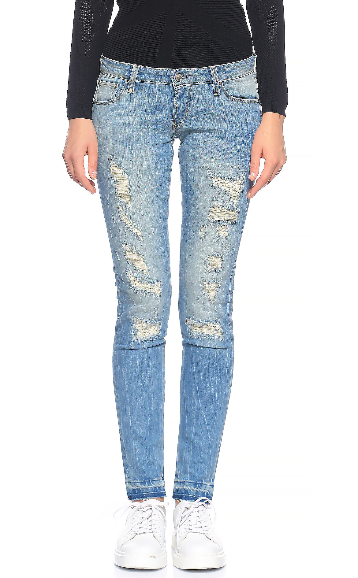 Guess-Guess Skinny Denim Pantolon