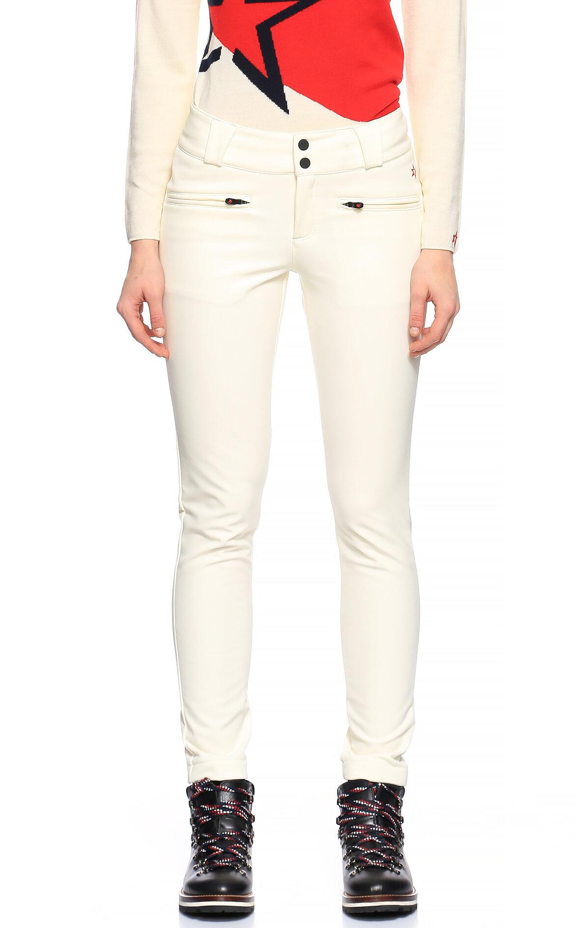 Perfect Moment-Perfect Moment Beyaz Kayak Pantolonu