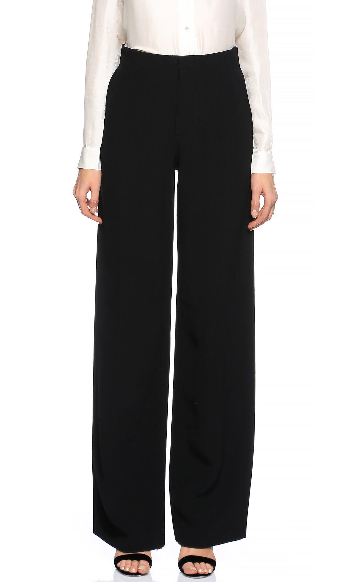 Victoria Beckham-Victoria Beckham Siyah Pantolon