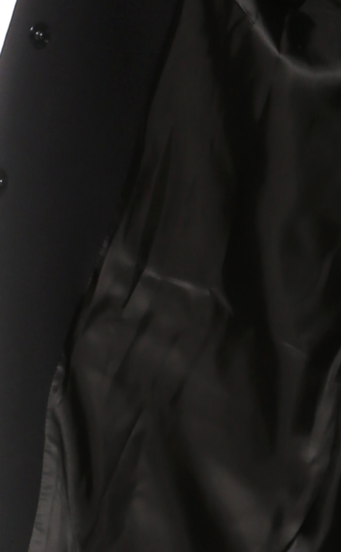Boutique Moschino Zımba Detaylı Siyah Kaban
