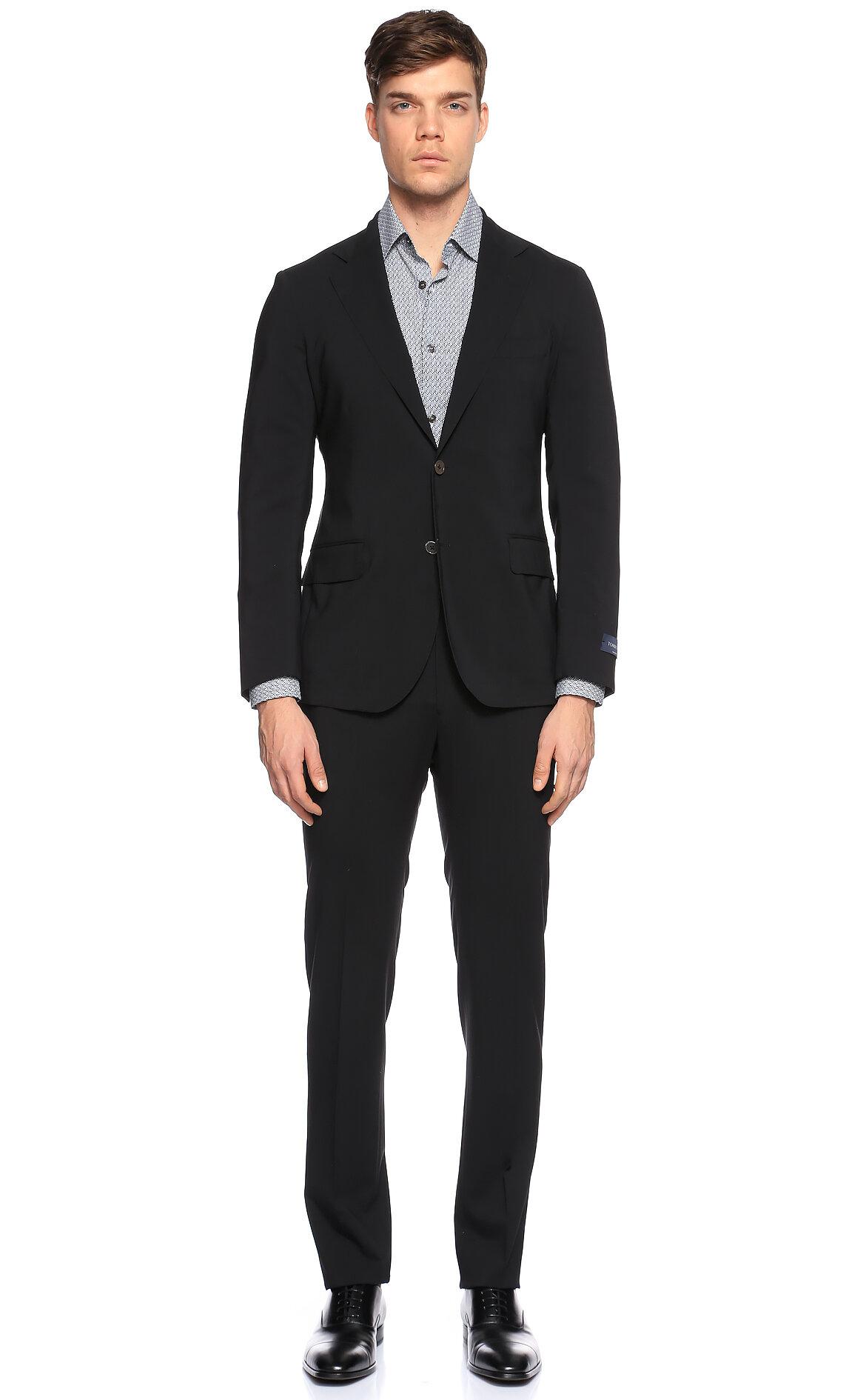 Tombolini-Tombolini Siyah Takım Elbise
