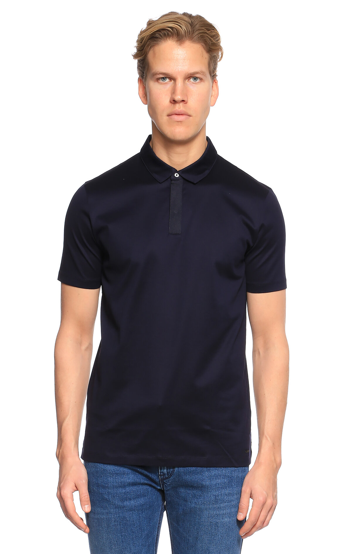 Hugo Boss Hugo Lacivert Polo T-Shirt