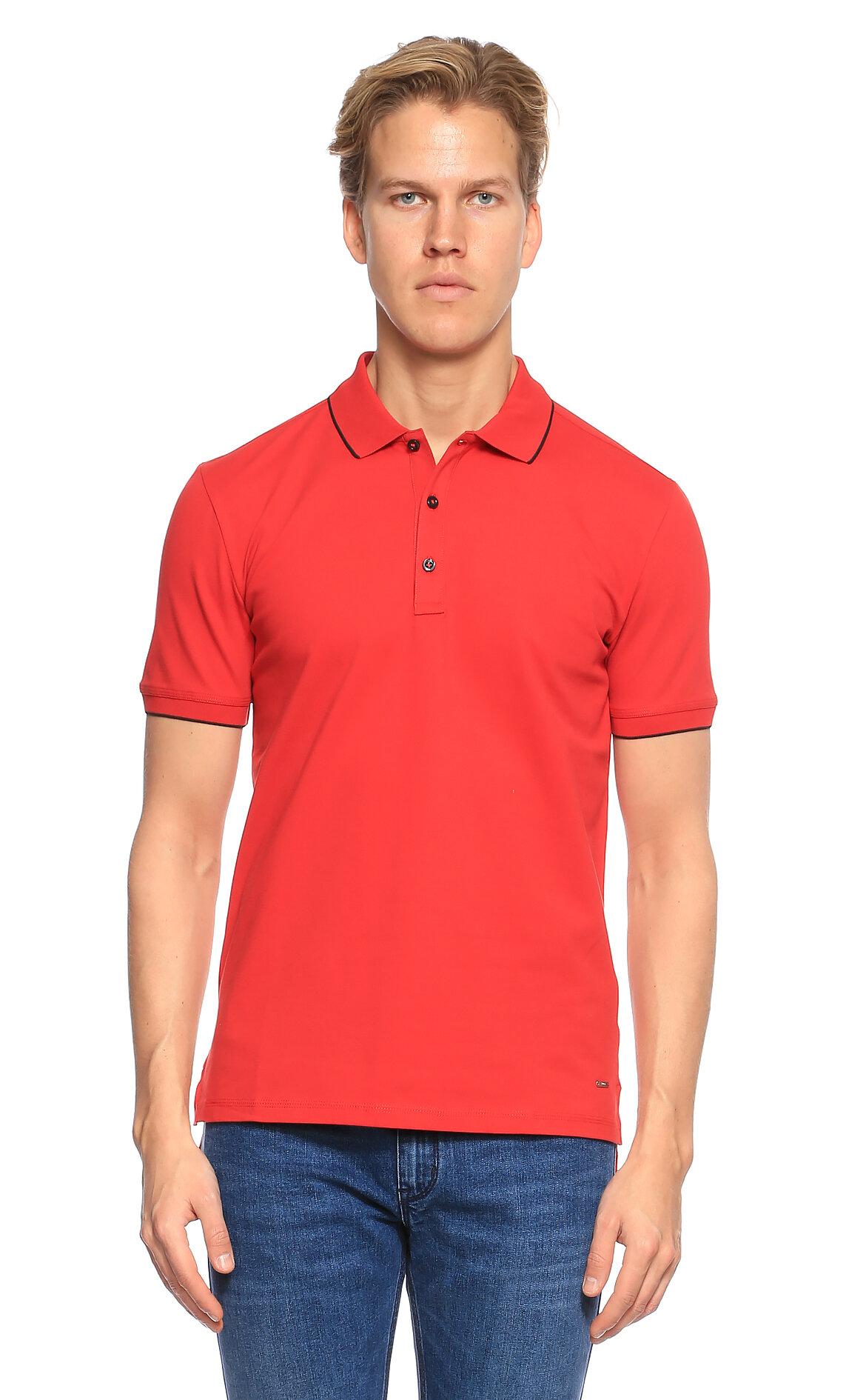 Hugo Boss Hugo Kırmızı Polo T-Shirt
