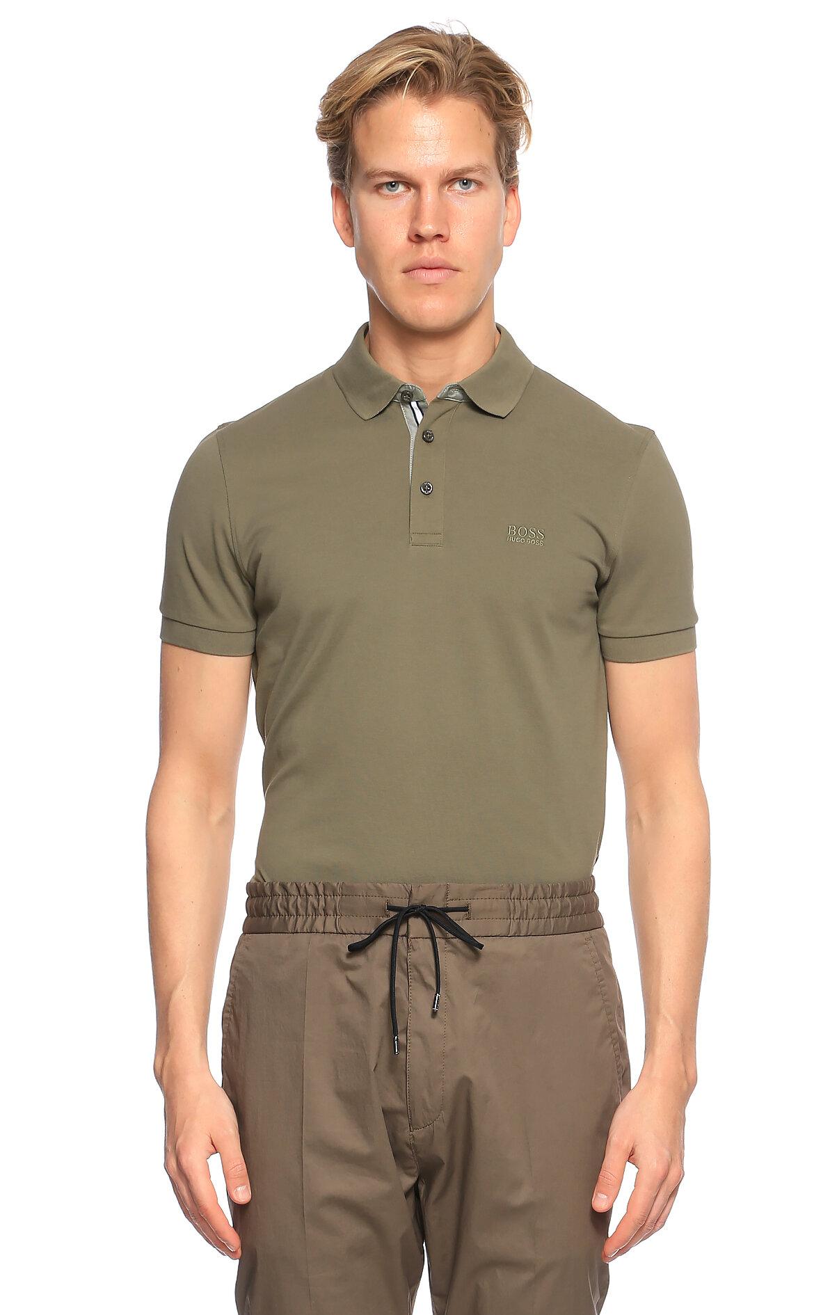 Hugo Boss Haki Polo T-Shirt