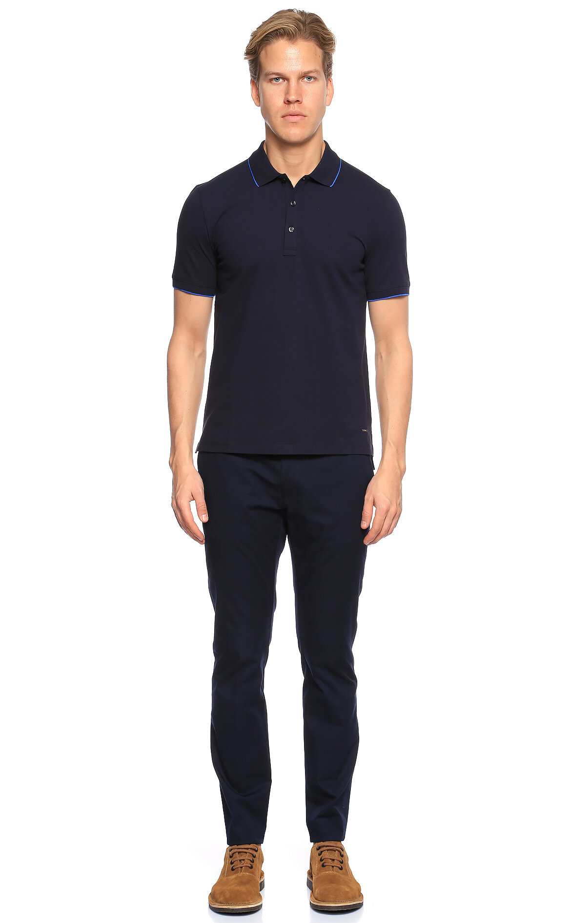 Hugo Boss Hugo Lacivert Polo T-Shirt