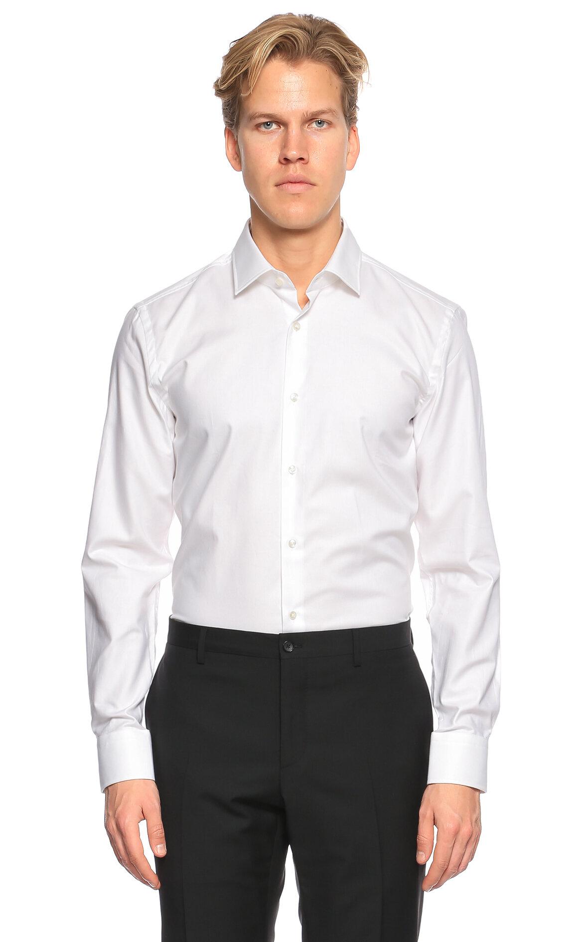 Hugo Boss Beyaz Gömlek