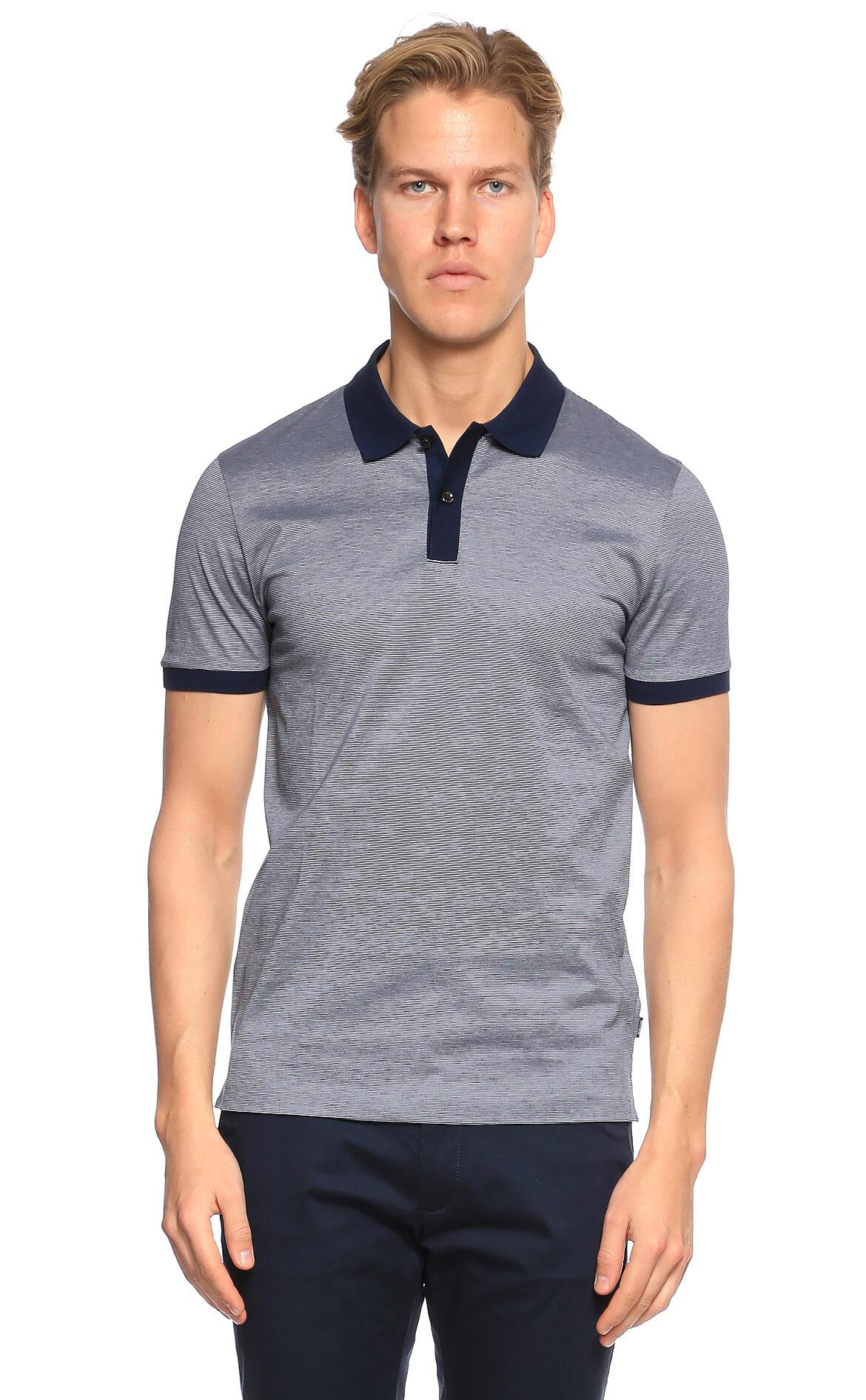 Hugo Boss Lacivert Polo T-Shirt