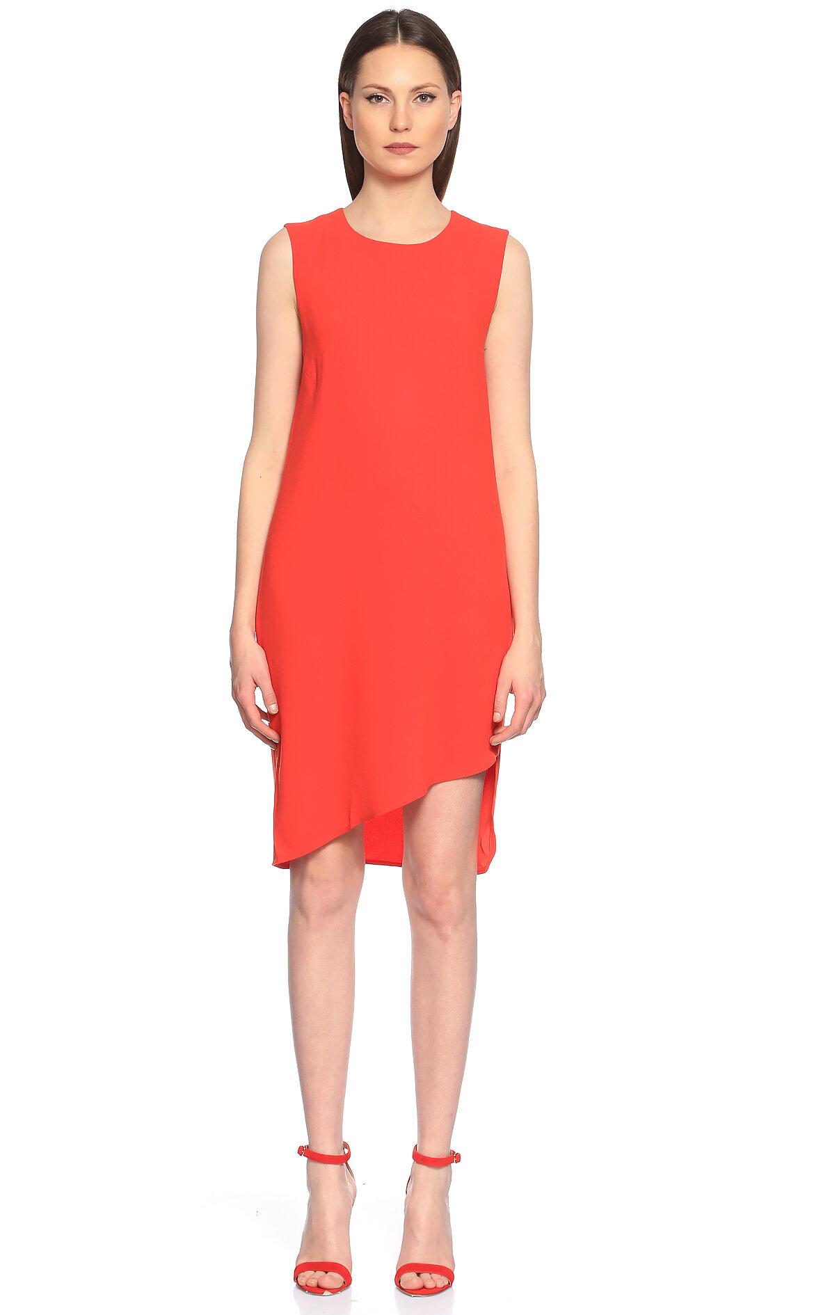 DKNY Turuncu Elbise