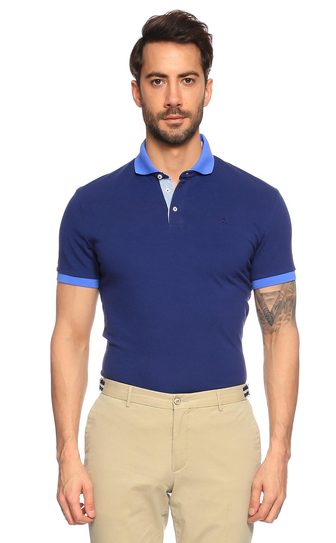 Hackett Mavi Polo T-Shirt