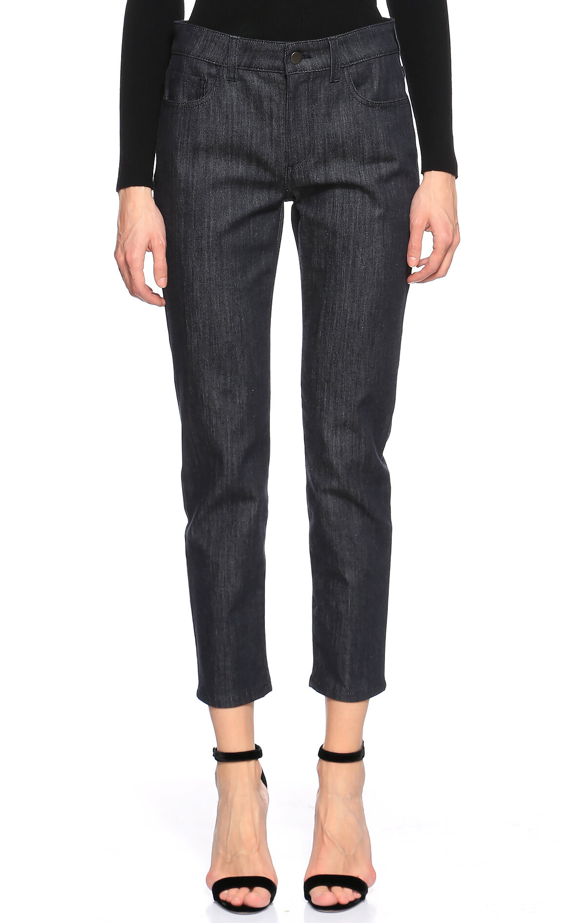 Salvatore Ferragamo-Salvatore Ferragamo Denim Jean Pantolon