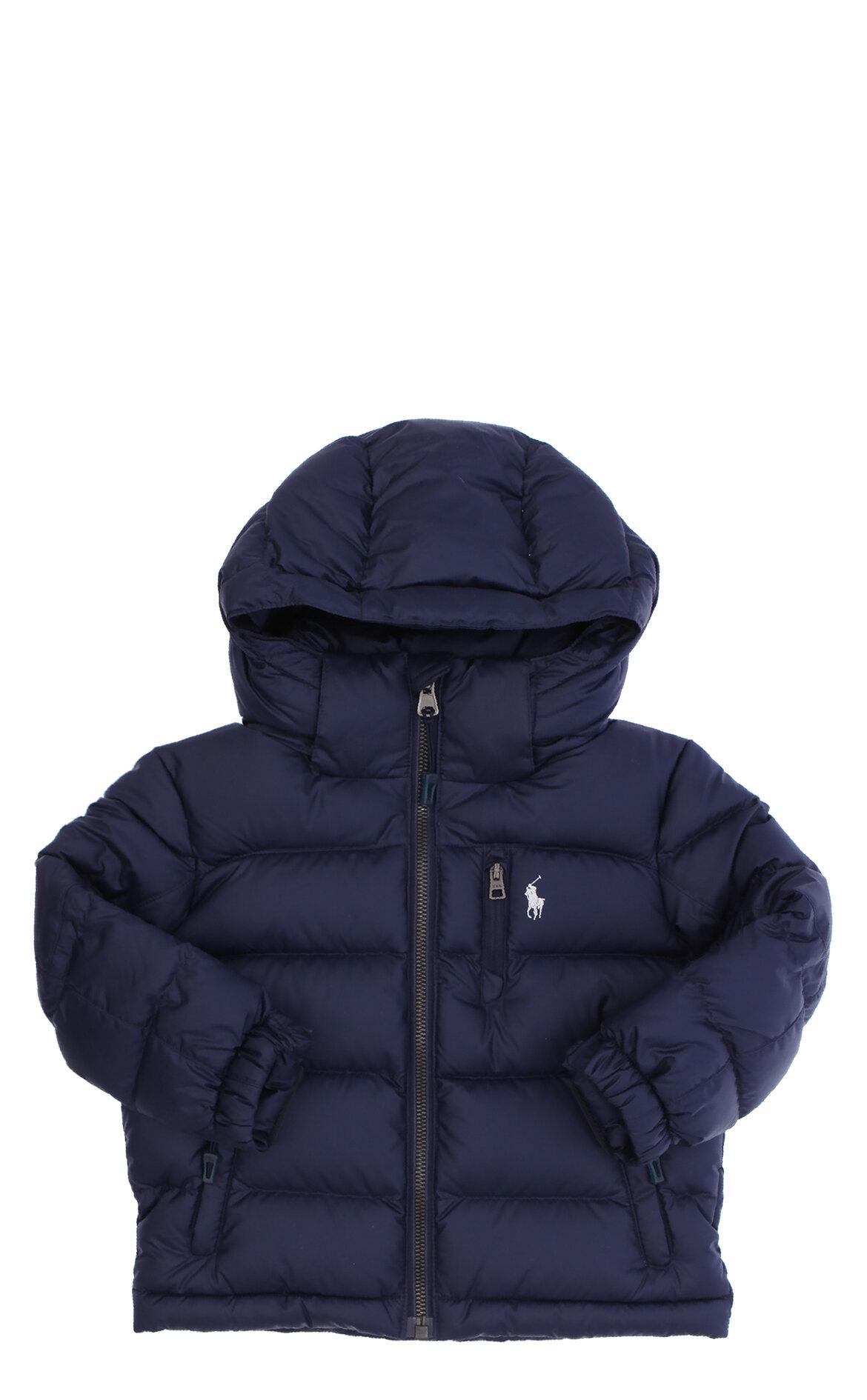 Polo Ralph Lauren Erkek Çocuk  Kapüşonlu Lacivert Ceket