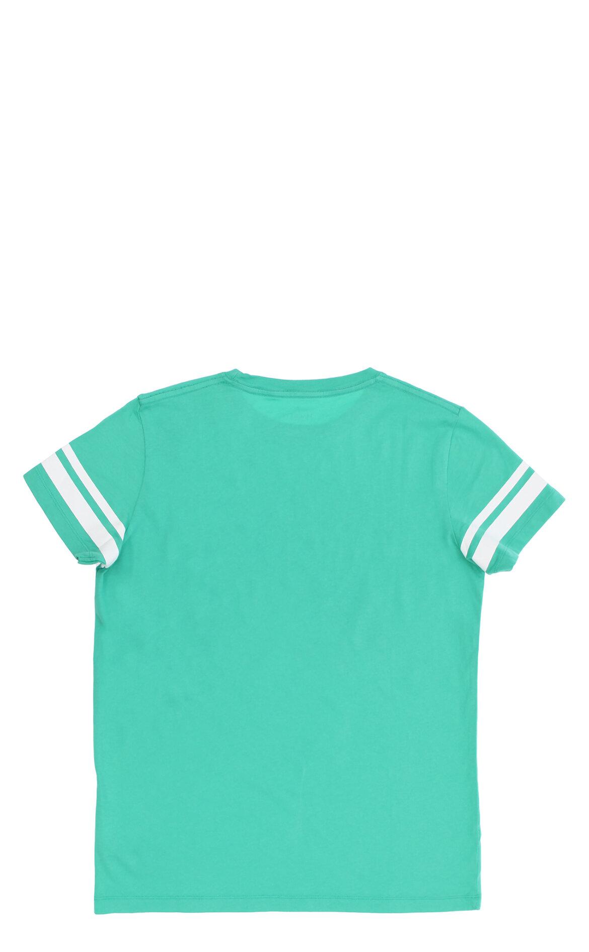Hackett Erkek Çocuk  Baskı Desen Yeşil T-Shirt