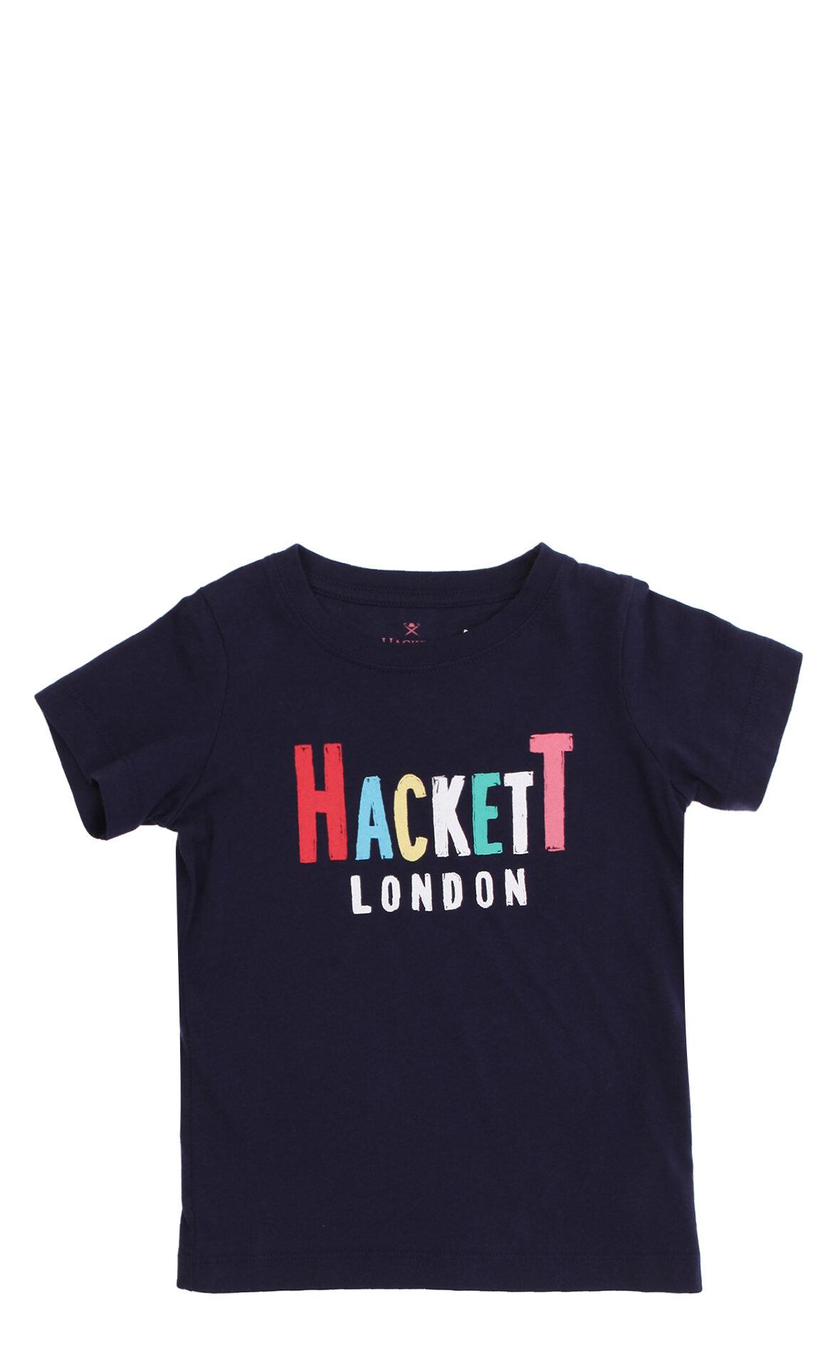 Hackett Erkek Çocuk  Baskı Desen Lacivert T-Shirt