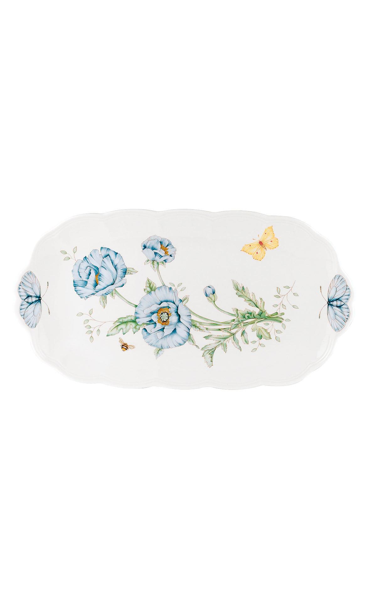 Lenox Butterfly Oval Servis Tabağı - 37.5 cm
